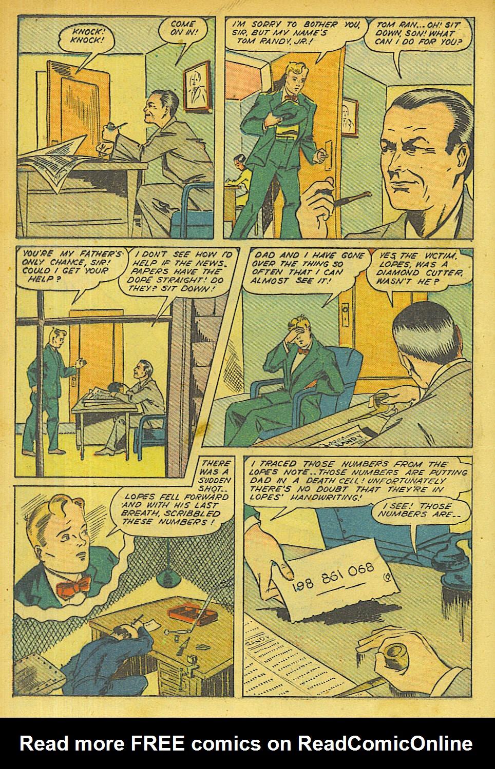 Read online Shadow Comics comic -  Issue #63 - 14