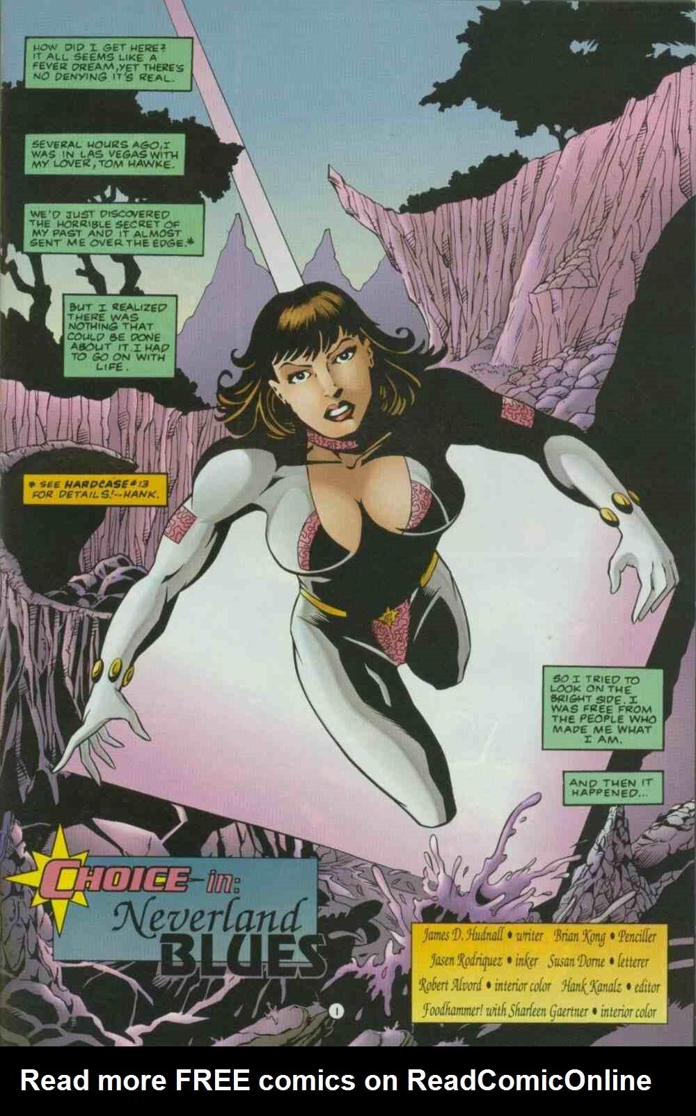 Read online Ultraverse Premiere comic -  Issue #7 - 13