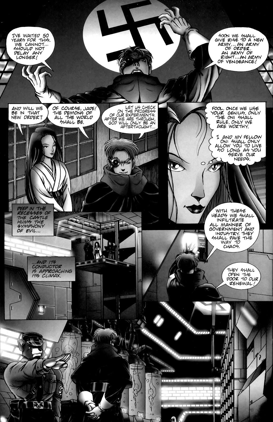 Warrior Nun Areala:  Dangerous Game Issue #3 #3 - English 26