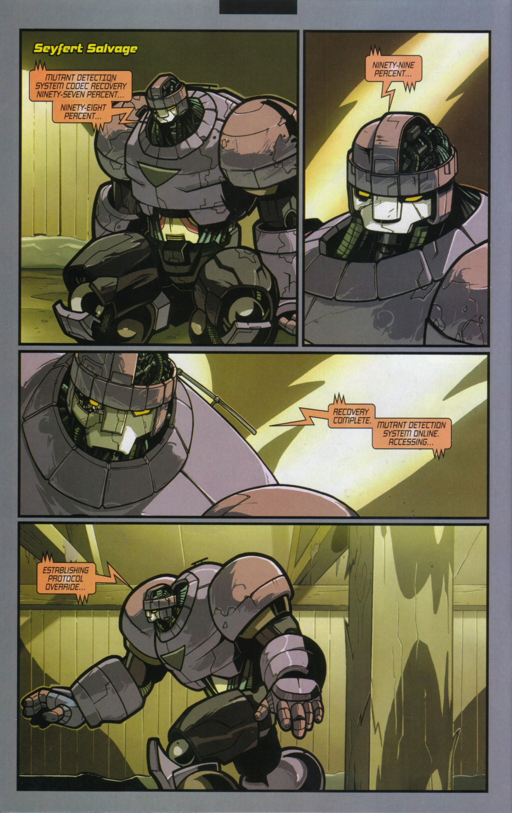 Read online Sentinel comic -  Issue #11 - 3