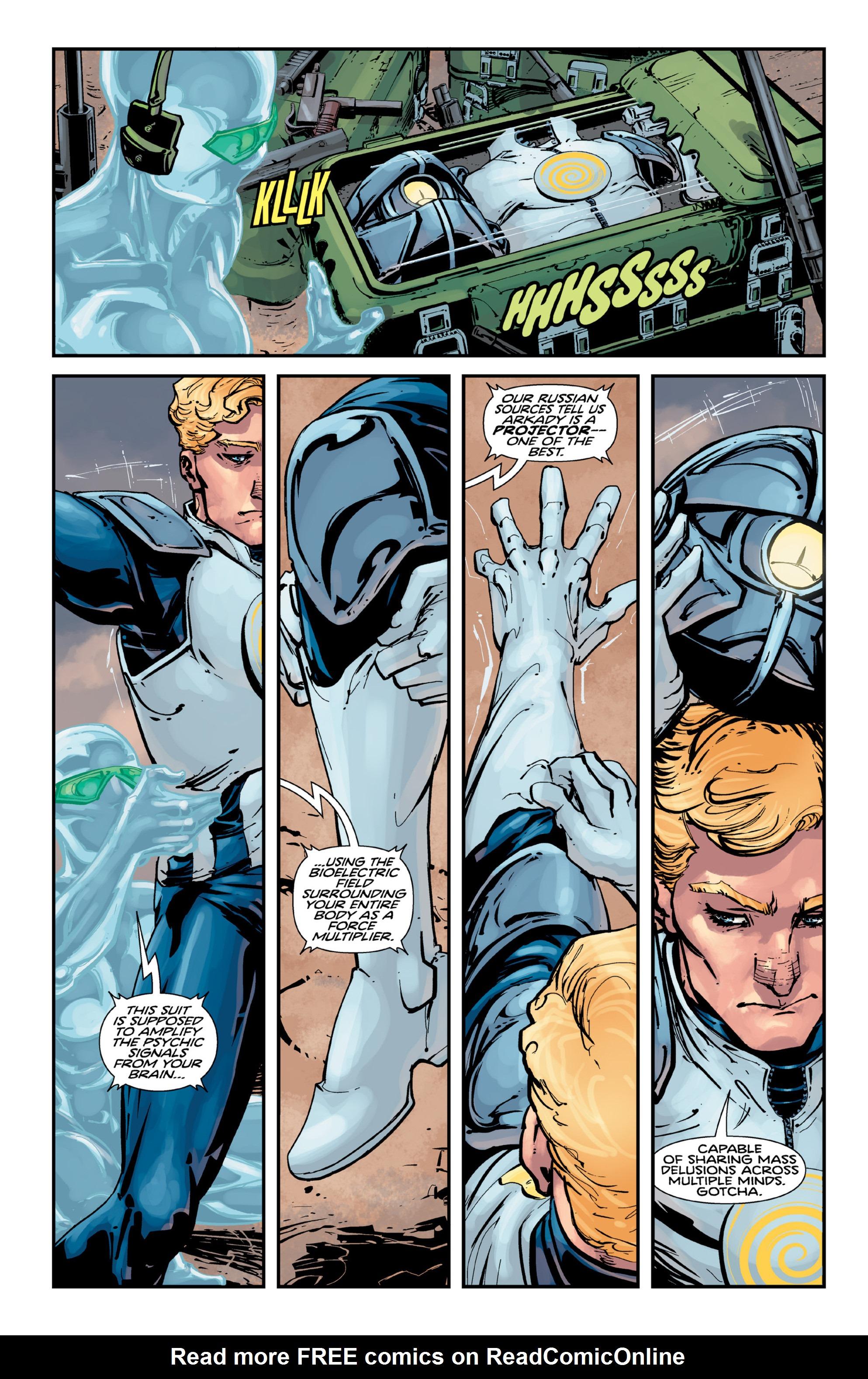Read online Brain Boy:  The Men from G.E.S.T.A.L.T. comic -  Issue # TPB - 42