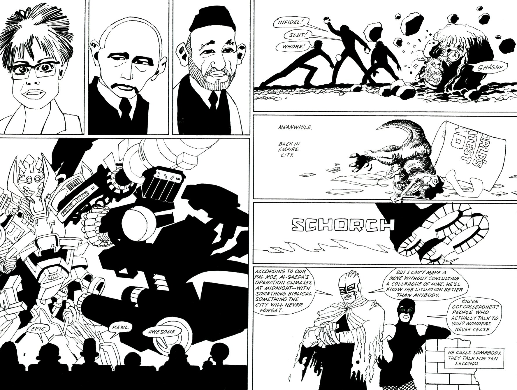 Read online Frank Miller's Holy Terror comic -  Issue # TPB - 85