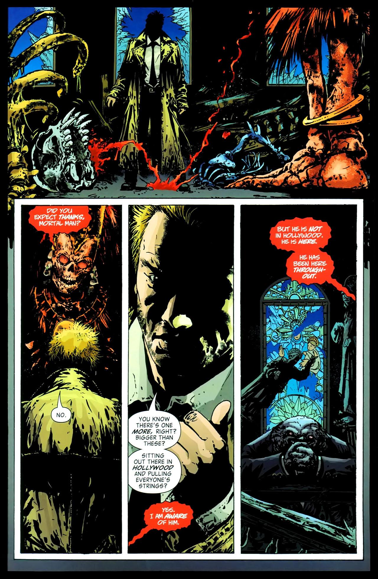 Read online John Constantine Hellblazer: All His Engines comic -  Issue # Full - 84
