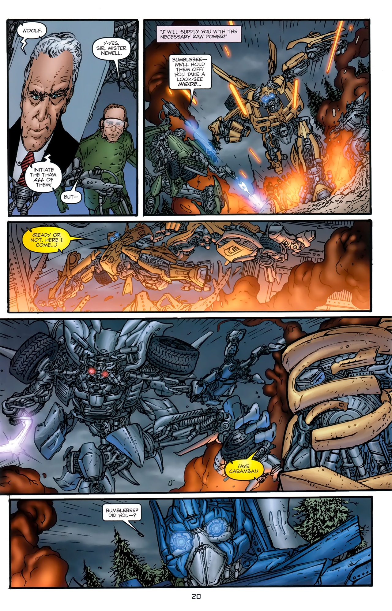 Read online Transformers: Nefarious comic -  Issue #5 - 23