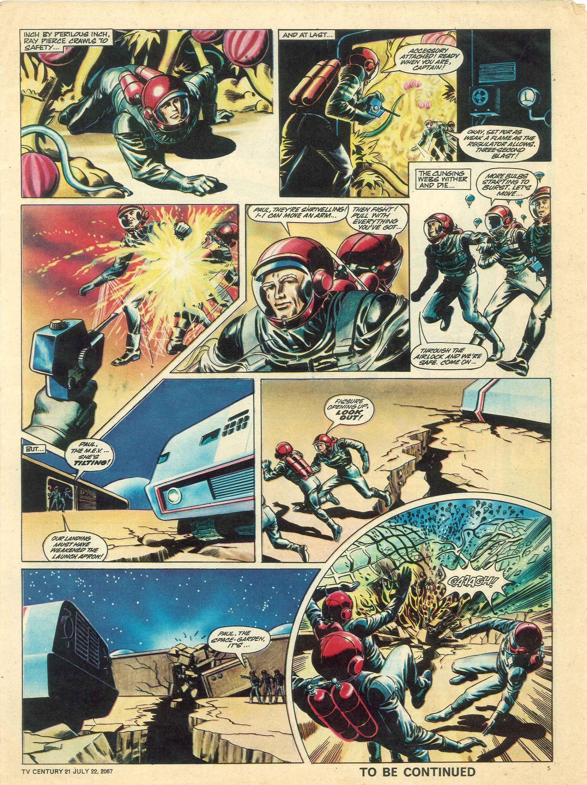 Read online TV Century 21 (TV 21) comic -  Issue #131 - 5
