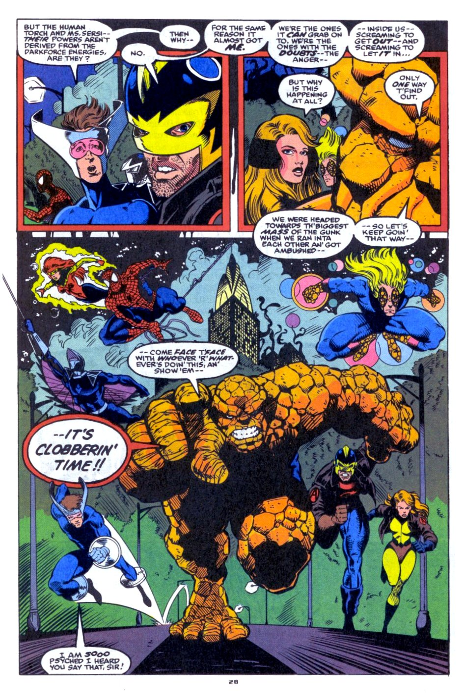 The New Warriors Issue #33 #37 - English 21