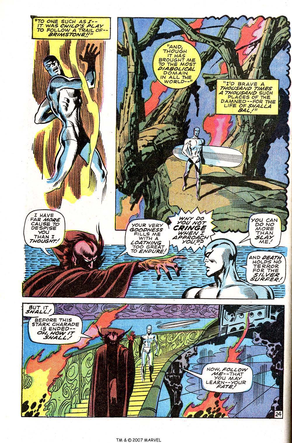 Silver Surfer (1968) issue 3 - Page 30