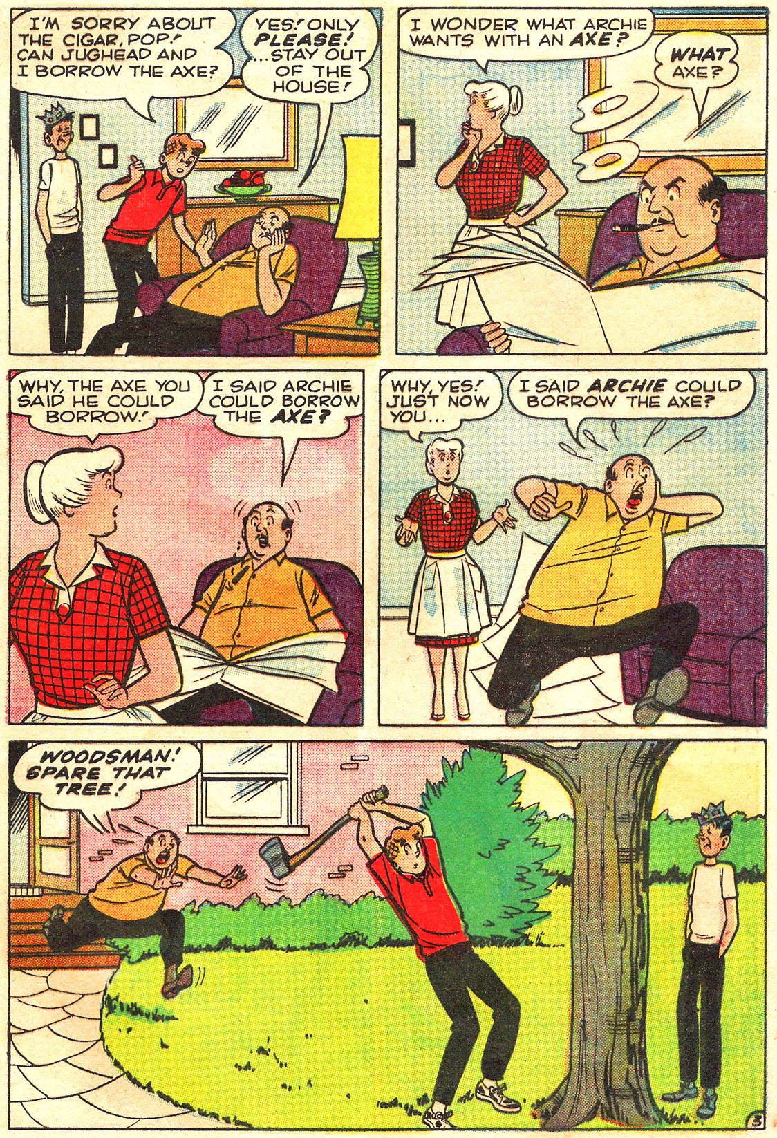 Read online Archie (1960) comic -  Issue #160 - 21