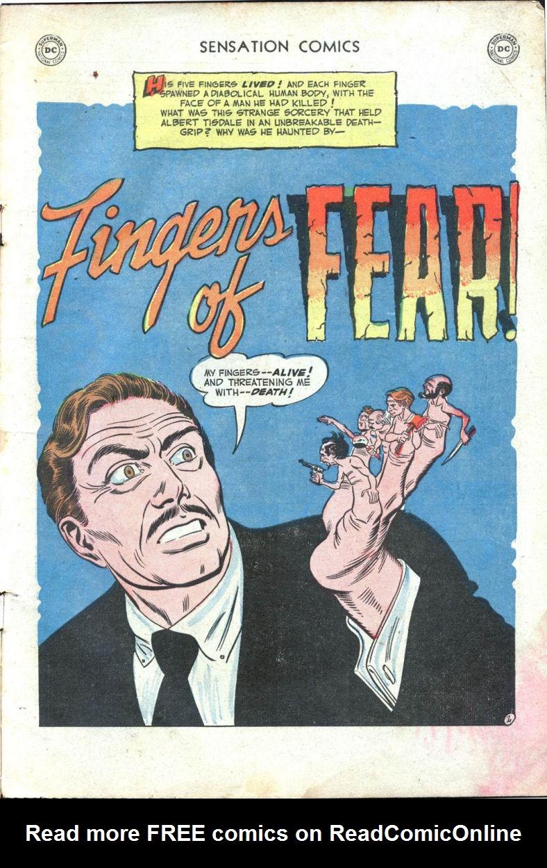 Read online Sensation (Mystery) Comics comic -  Issue #109 - 3