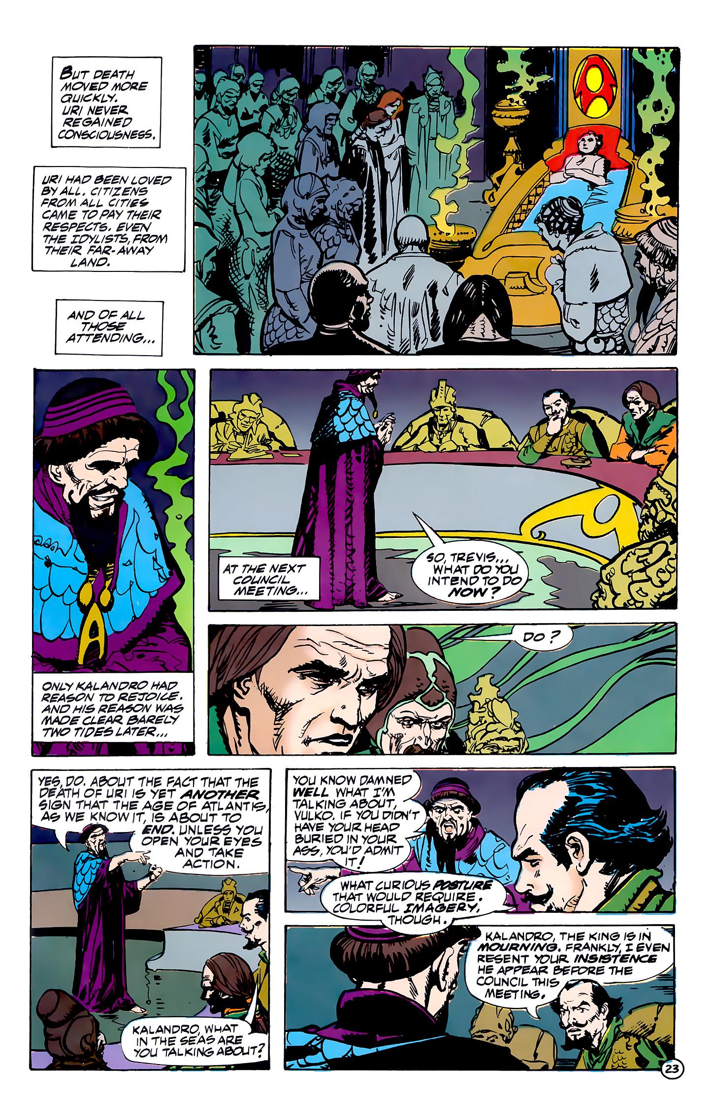 Read online Atlantis Chronicles comic -  Issue #7 - 24