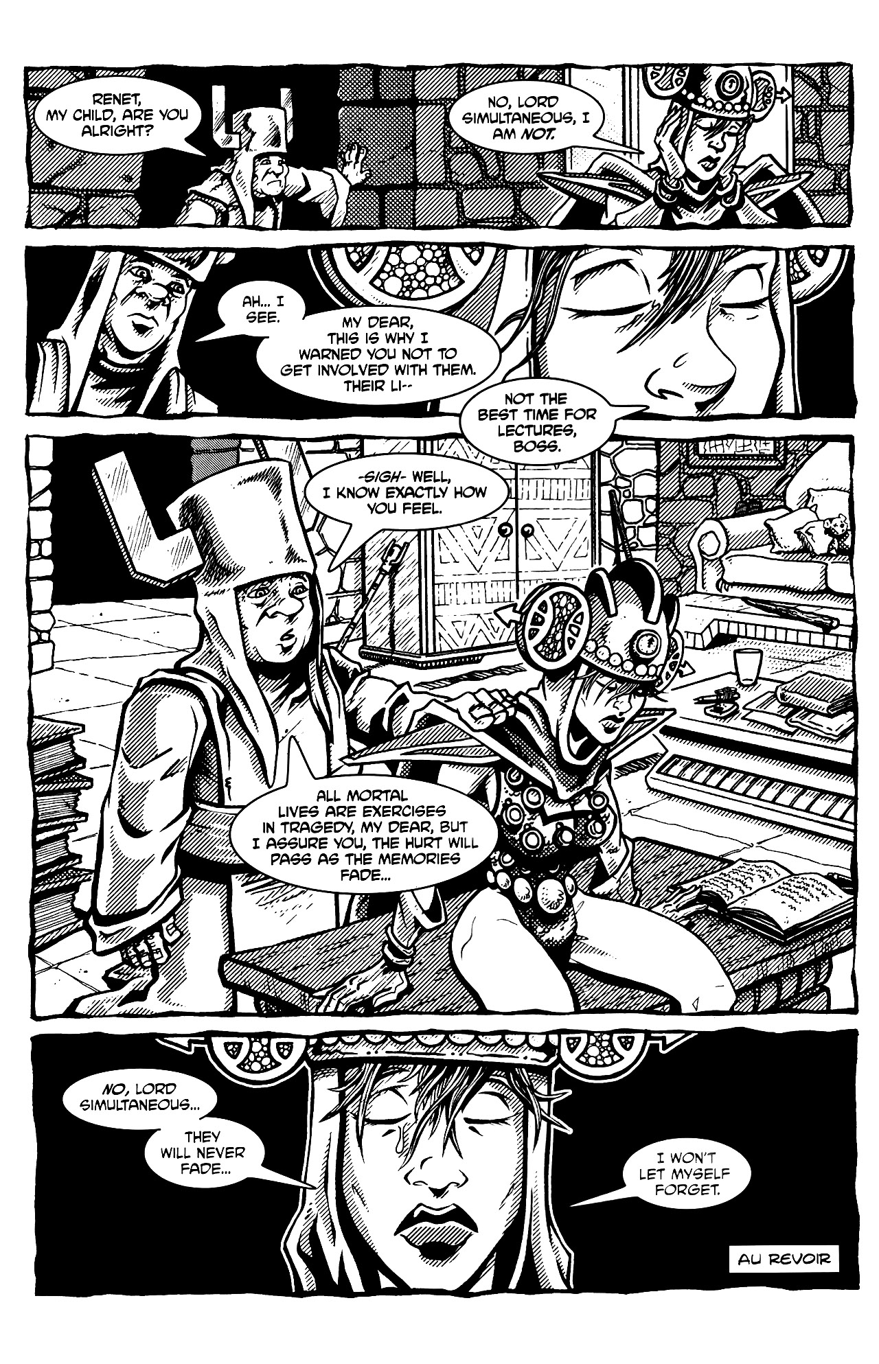 Read online Tales of the TMNT comic -  Issue #69 - 33