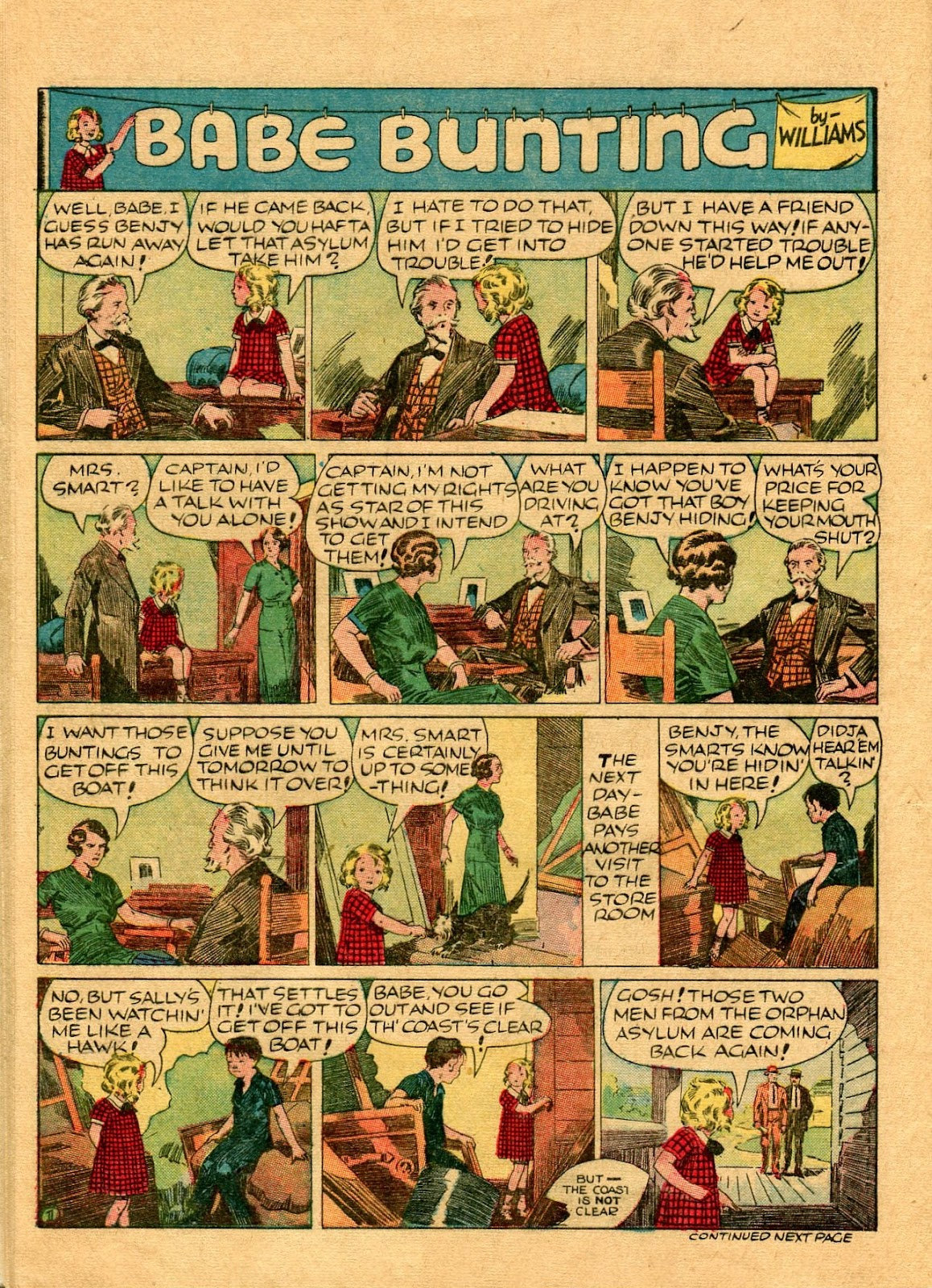 Read online Famous Funnies comic -  Issue #56 - 54