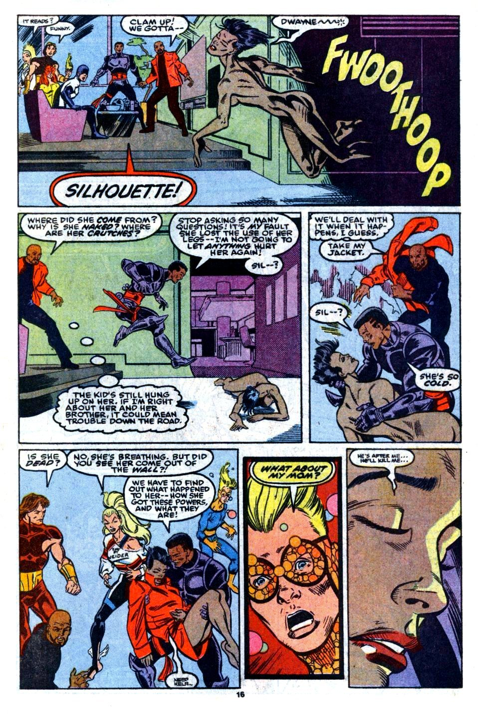 The New Warriors Issue #7 #11 - English 13