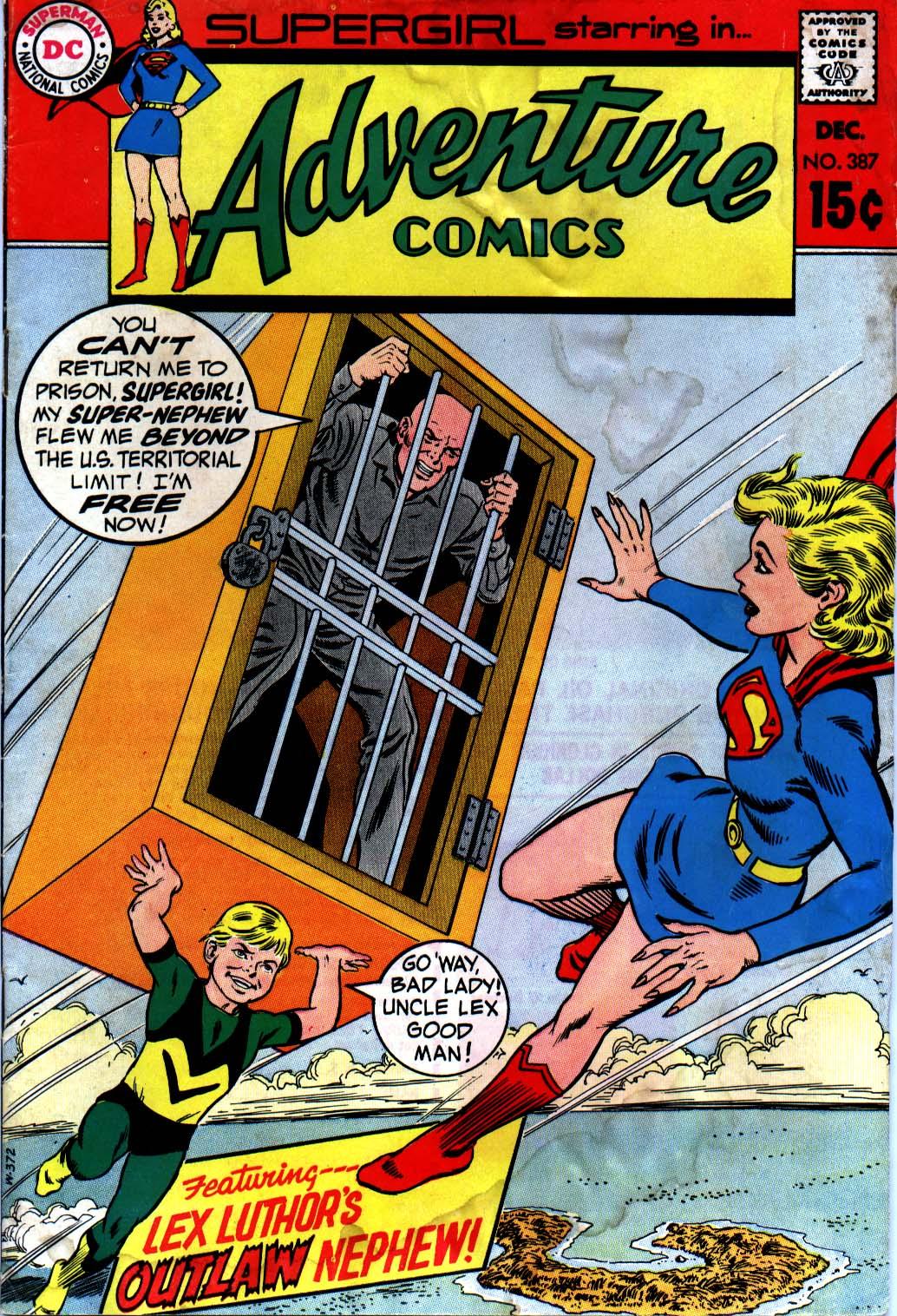 Read online Adventure Comics (1938) comic -  Issue #387 - 1
