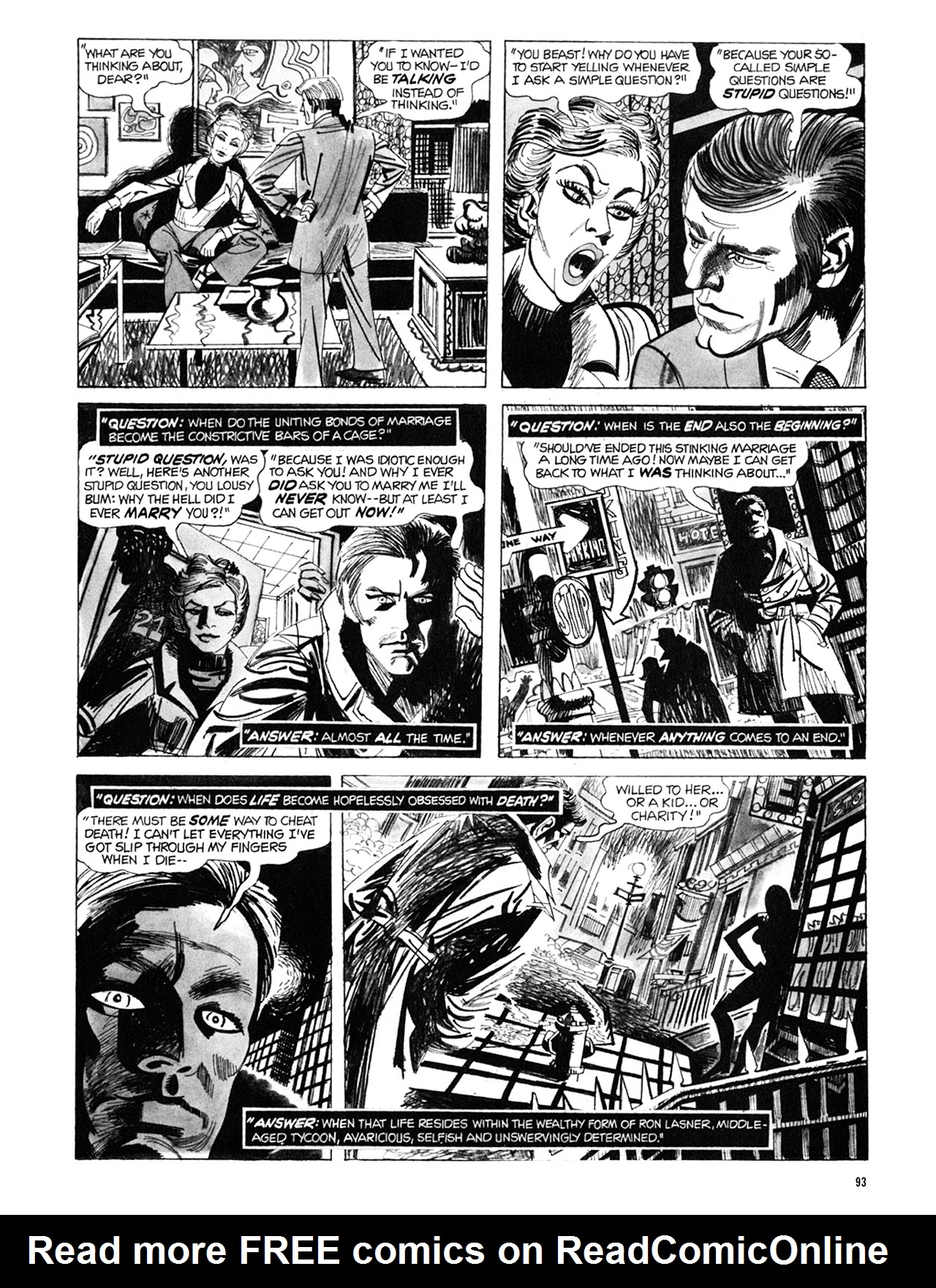 Read online Eerie Archives comic -  Issue # TPB 9 - 94
