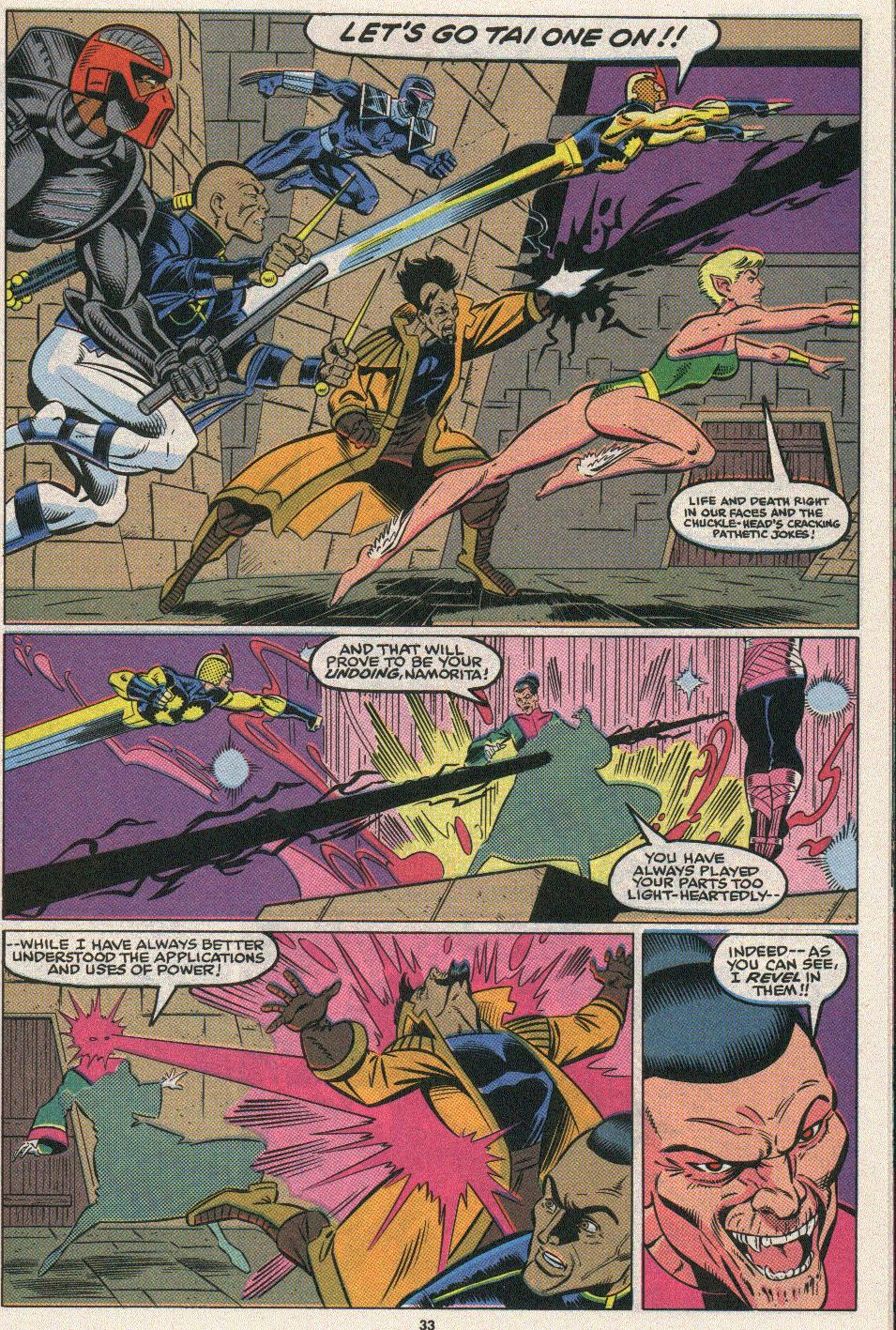 The New Warriors Issue #25 #29 - English 29