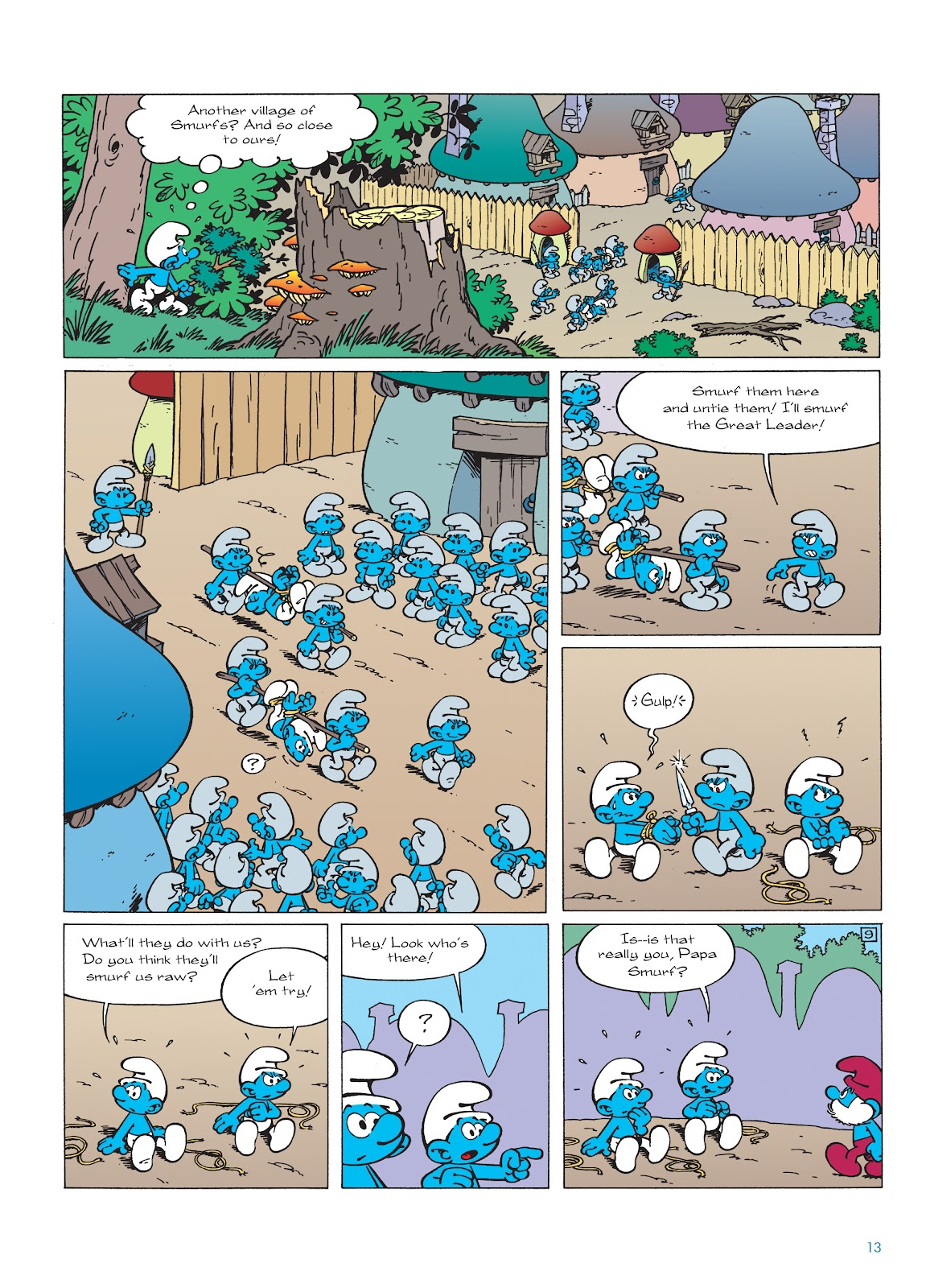 Read online The Smurfs comic -  Issue #22 - 14