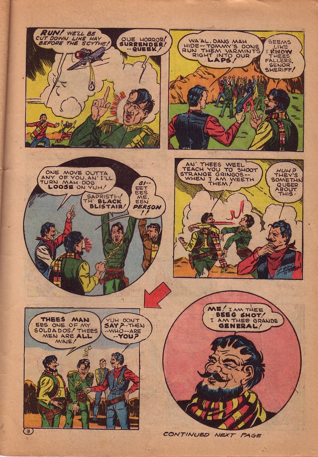 Read online Famous Funnies comic -  Issue #107 - 42
