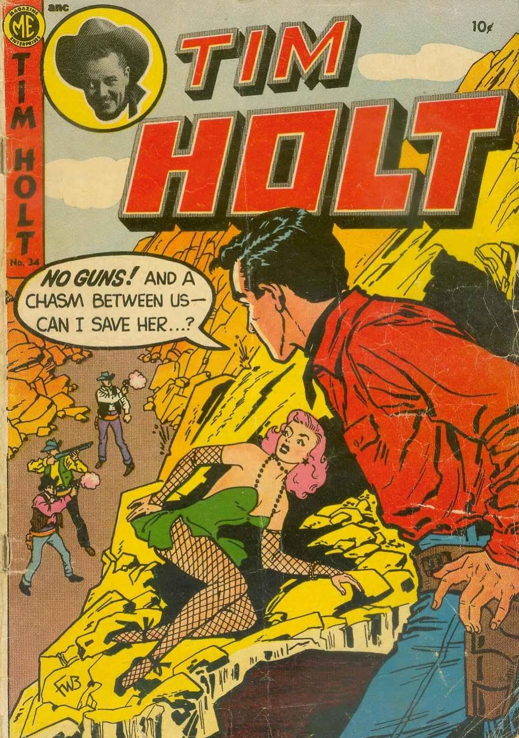 Tim Holt 34 Page 1