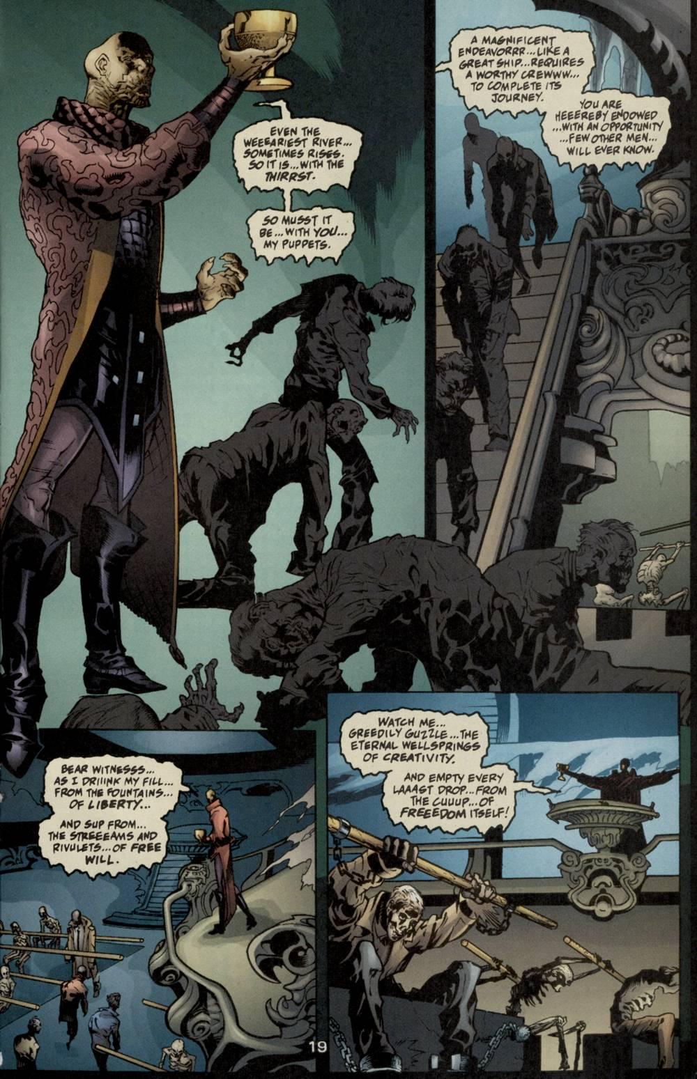 Read online Aquaman (2003) comic -  Issue #5 - 21