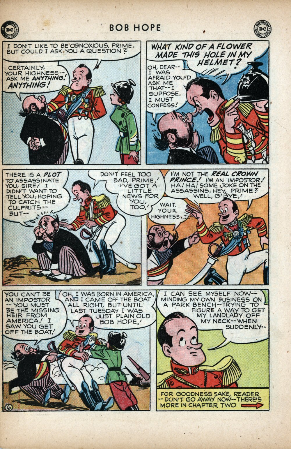 The Adventures of Bob Hope issue 11 - Page 8