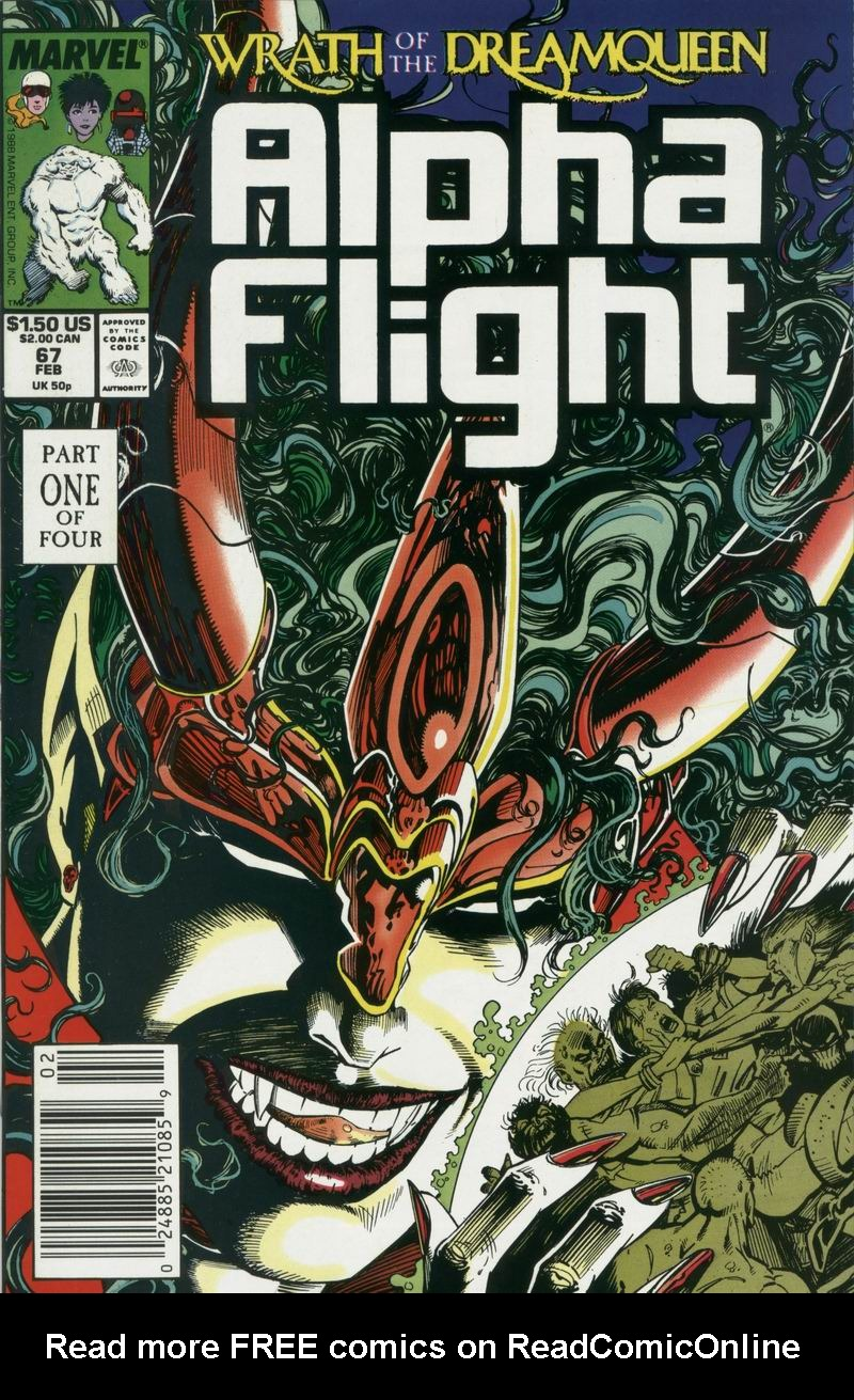Read online Alpha Flight (1983) comic -  Issue #67 - 1