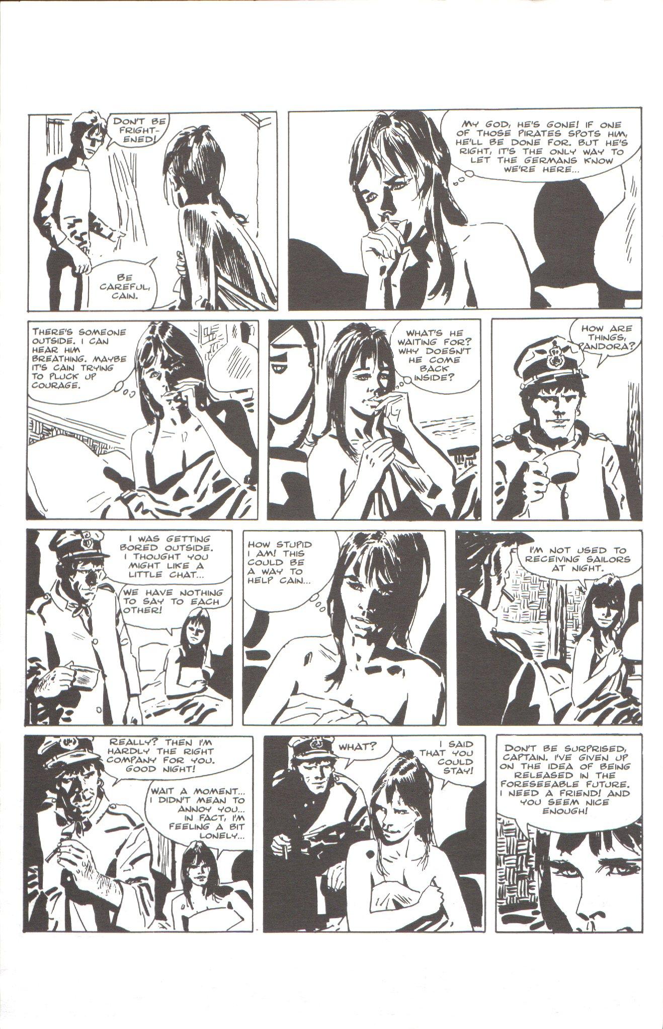 Read online Corto Maltese: Ballad of the Salt Sea comic -  Issue #1 - 24