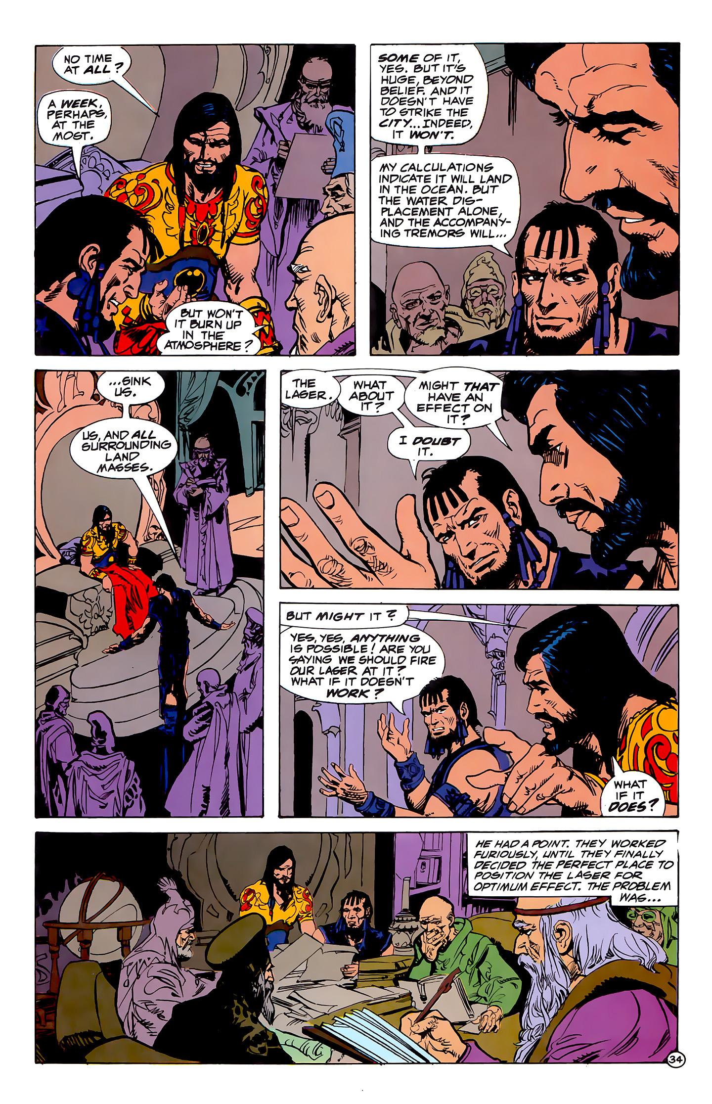 Read online Atlantis Chronicles comic -  Issue #1 - 34