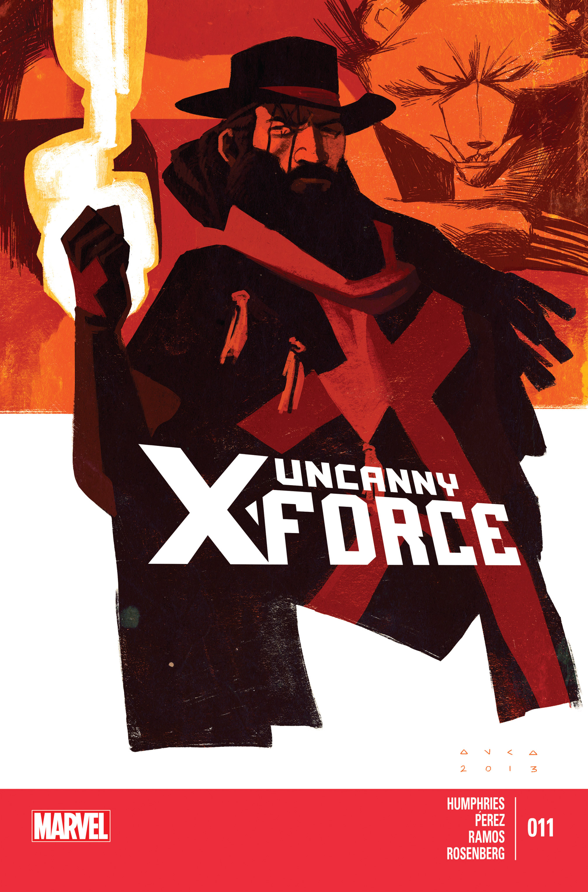 Read online Uncanny X-Force (2013) comic -  Issue #11 - 1