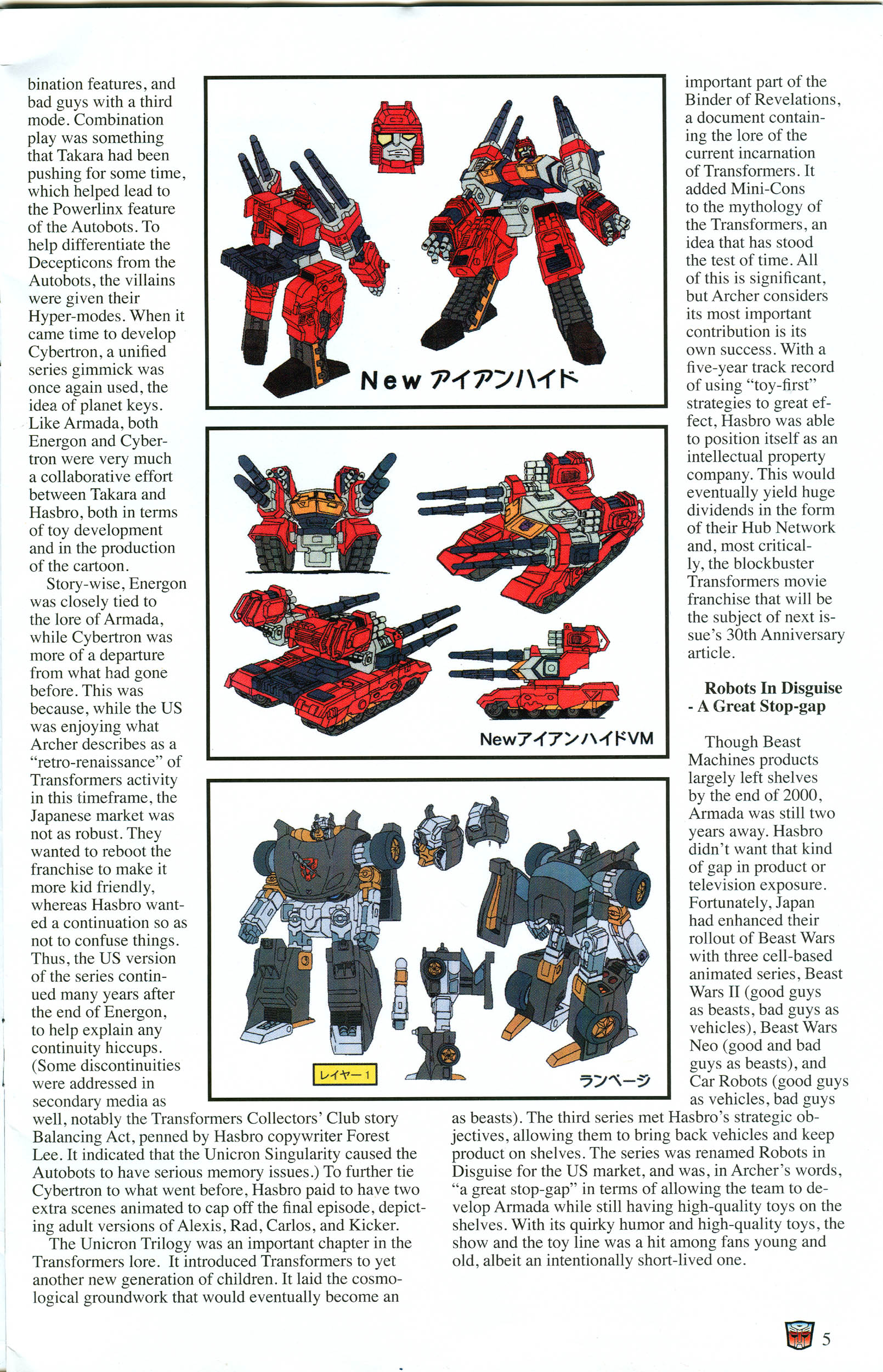 Read online Transformers: Collectors' Club comic -  Issue #57 - 5