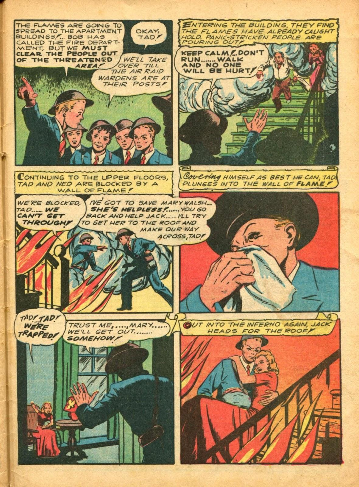 Read online Super-Magician Comics comic -  Issue #5 - 64