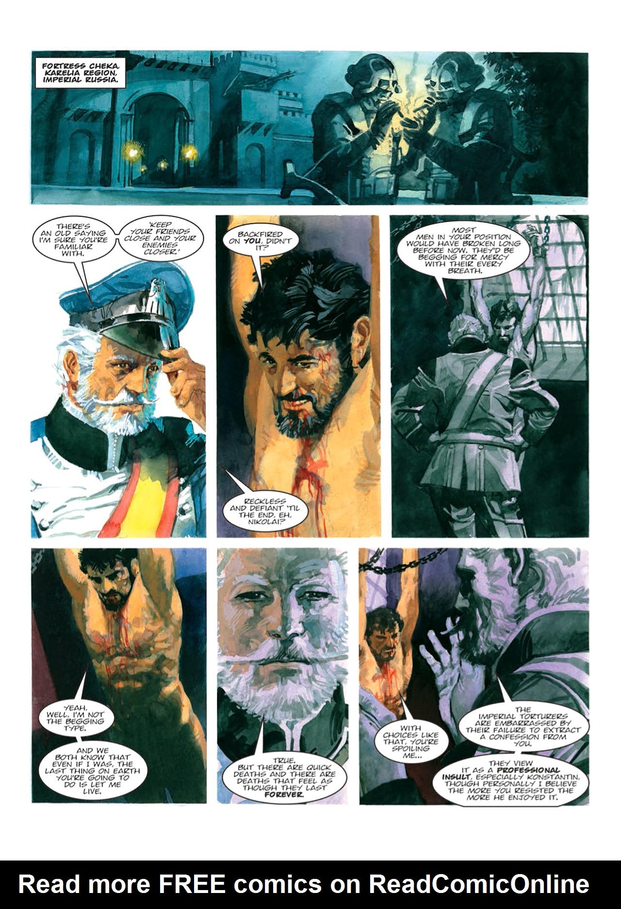 Read online Nikolai Dante comic -  Issue # TPB 9 - 87