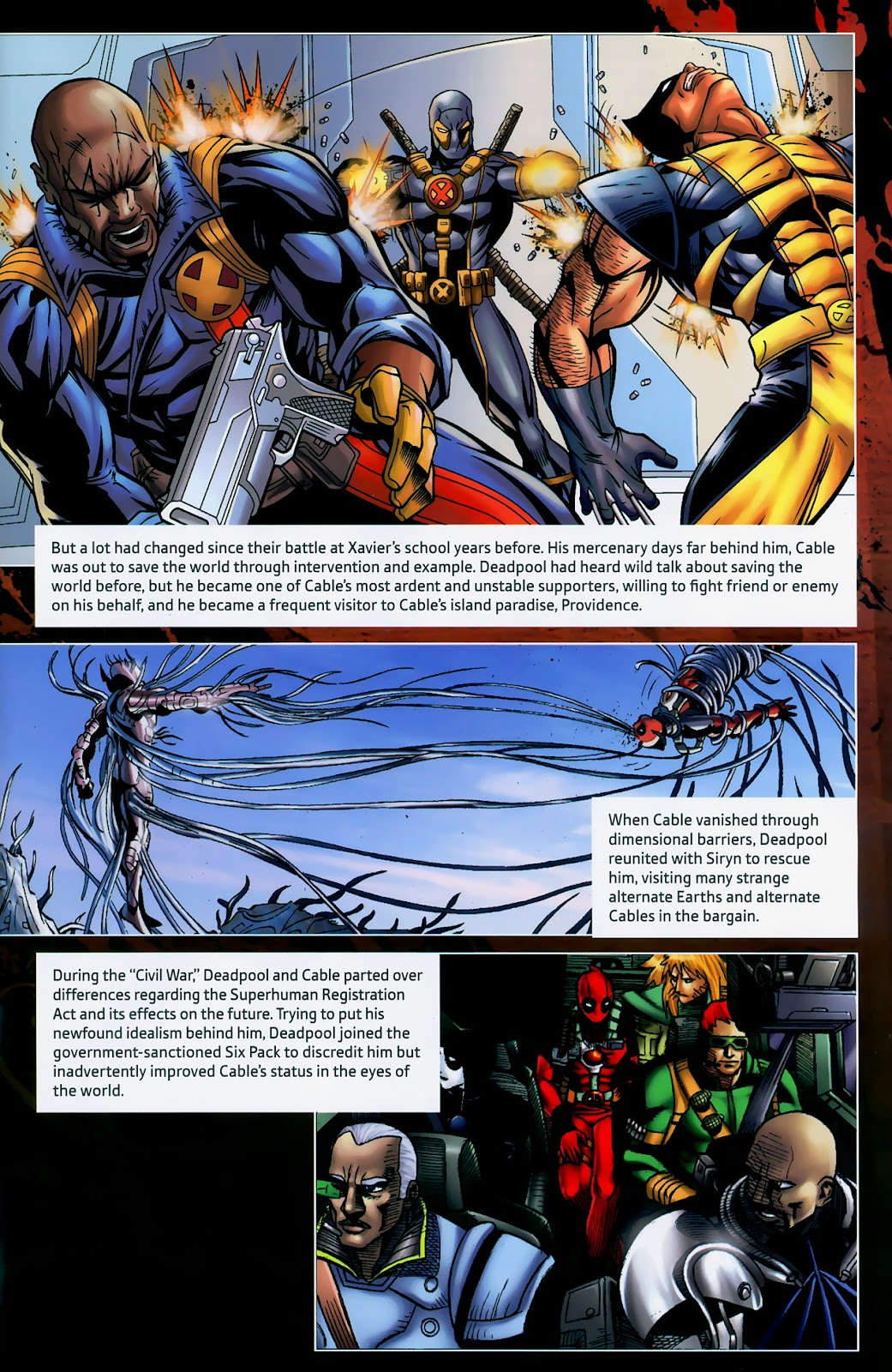 Read online Deadpool (2008) comic -  Issue #1 - 31