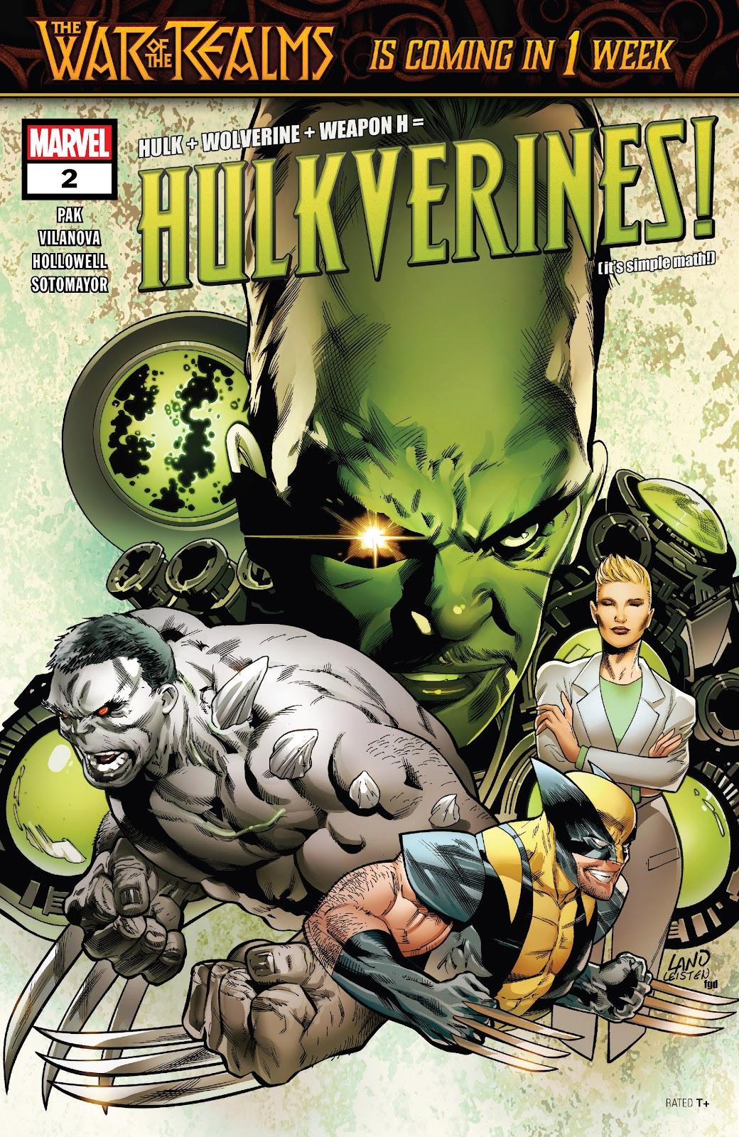 Read online Hulkverines comic -  Issue #2 - 1
