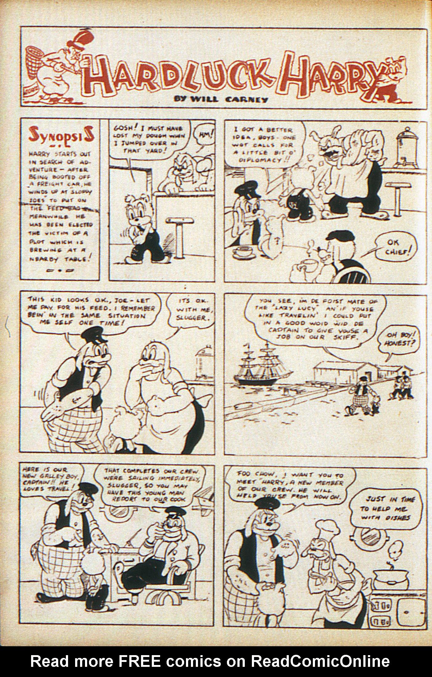 Read online Adventure Comics (1938) comic -  Issue #10 - 39