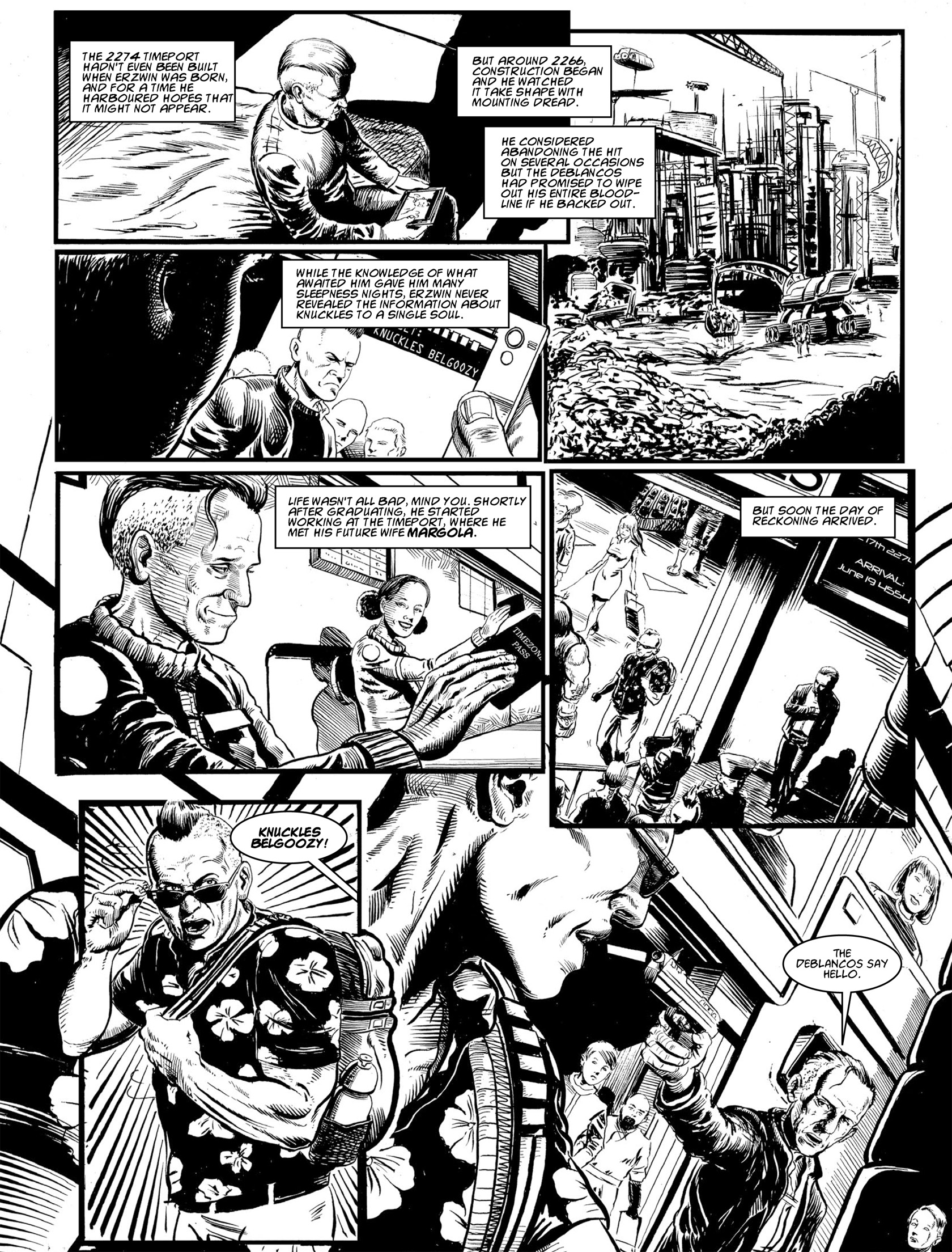 Read online 2000 AD comic -  Issue #1982 - 21