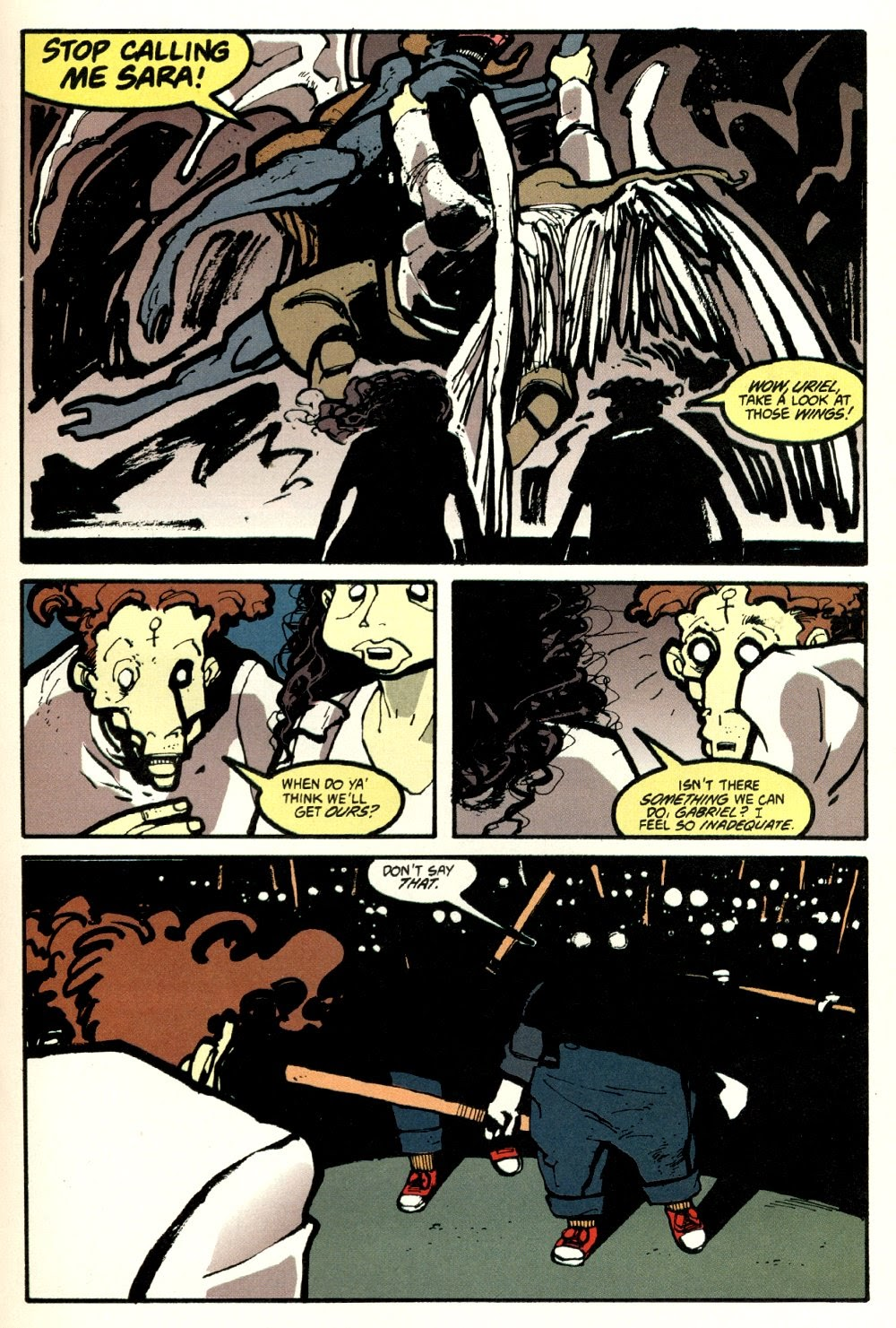 Read online Ted McKeever's Metropol comic -  Issue #8 - 15