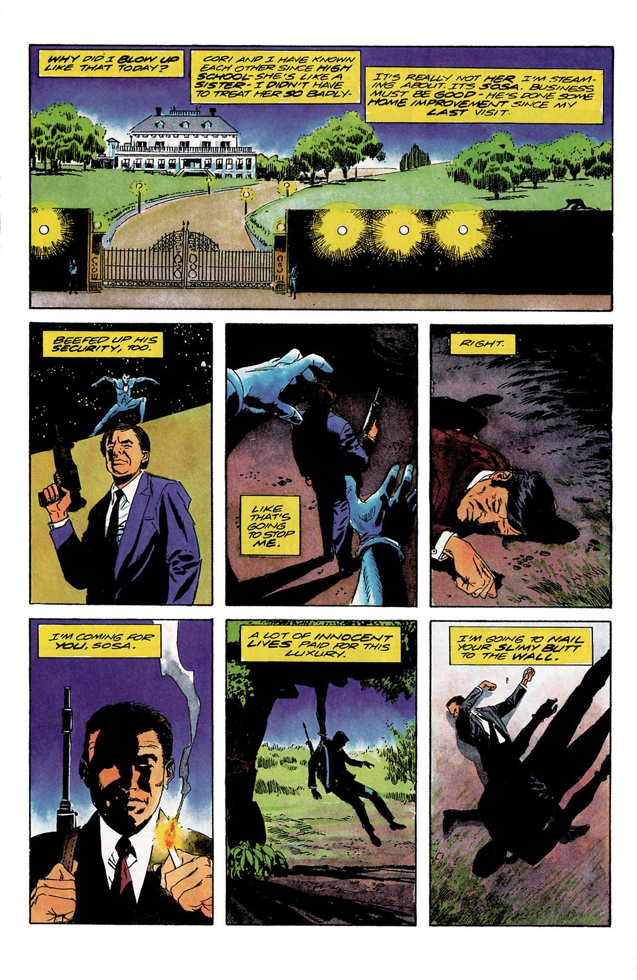 Read online Shadowman (1992) comic -  Issue #9 - 9
