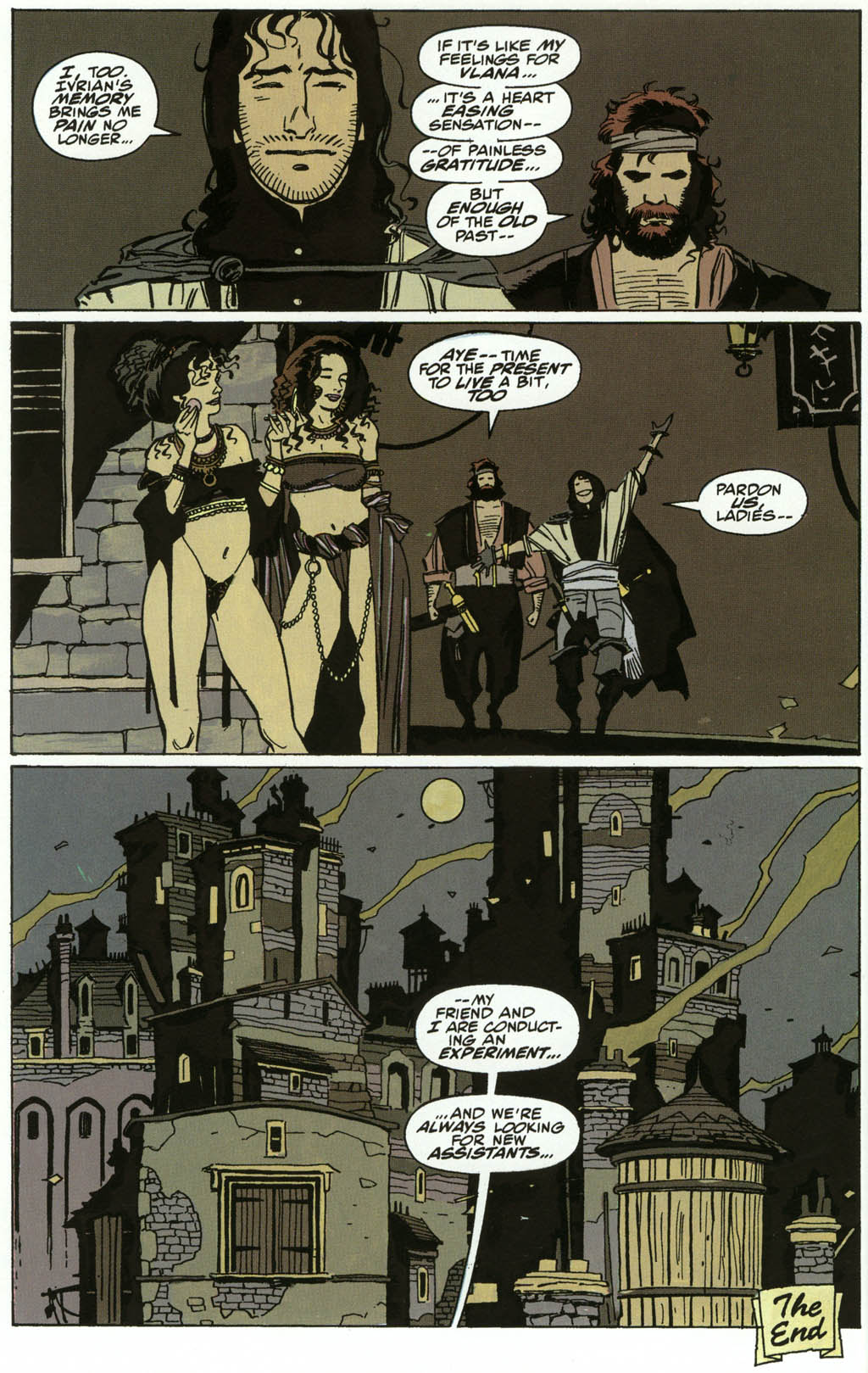 Read online Fafhrd and the Gray Mouser comic -  Issue #3 - 22