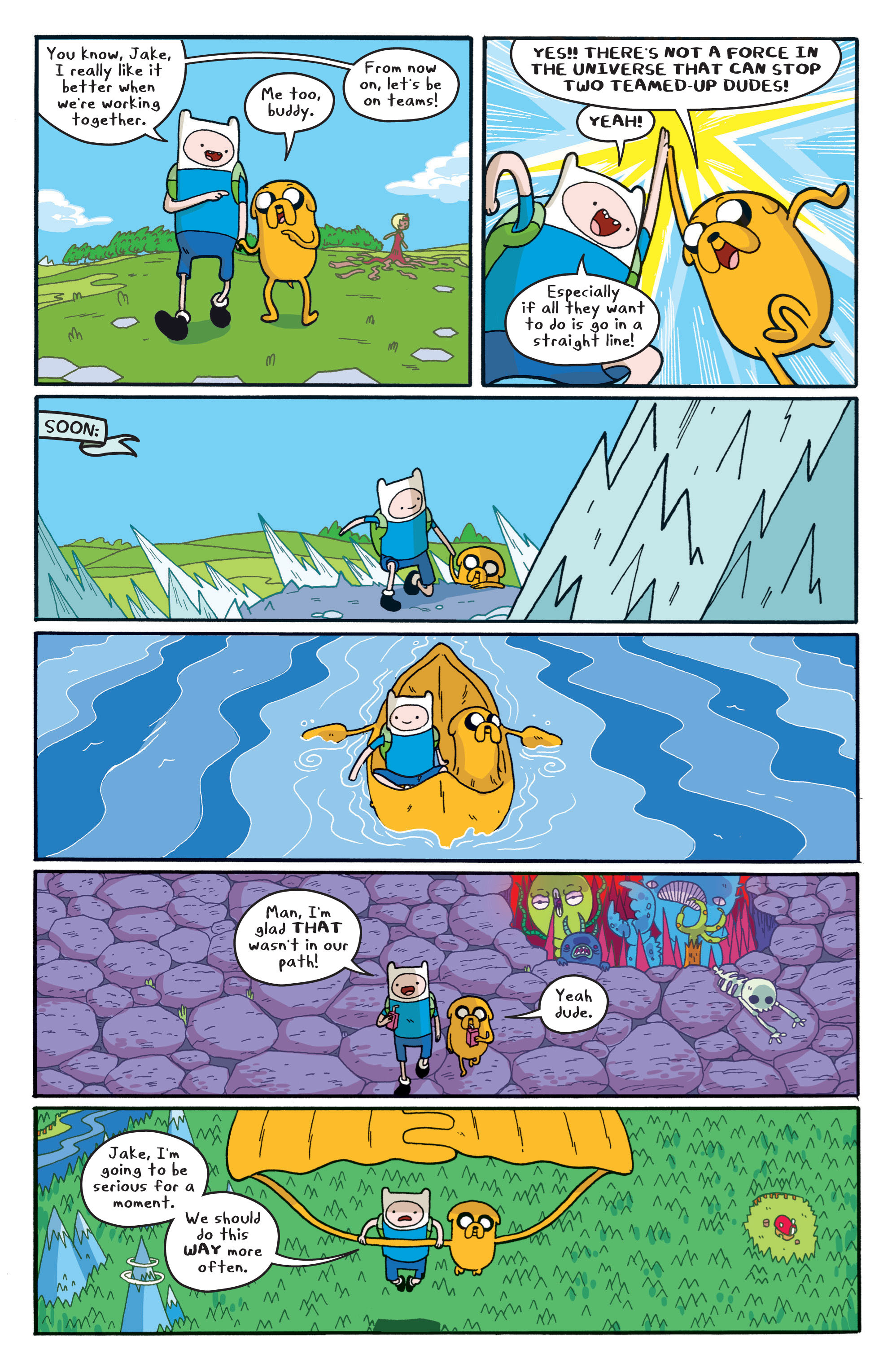 Read online Adventure Time comic -  Issue #5 - 13