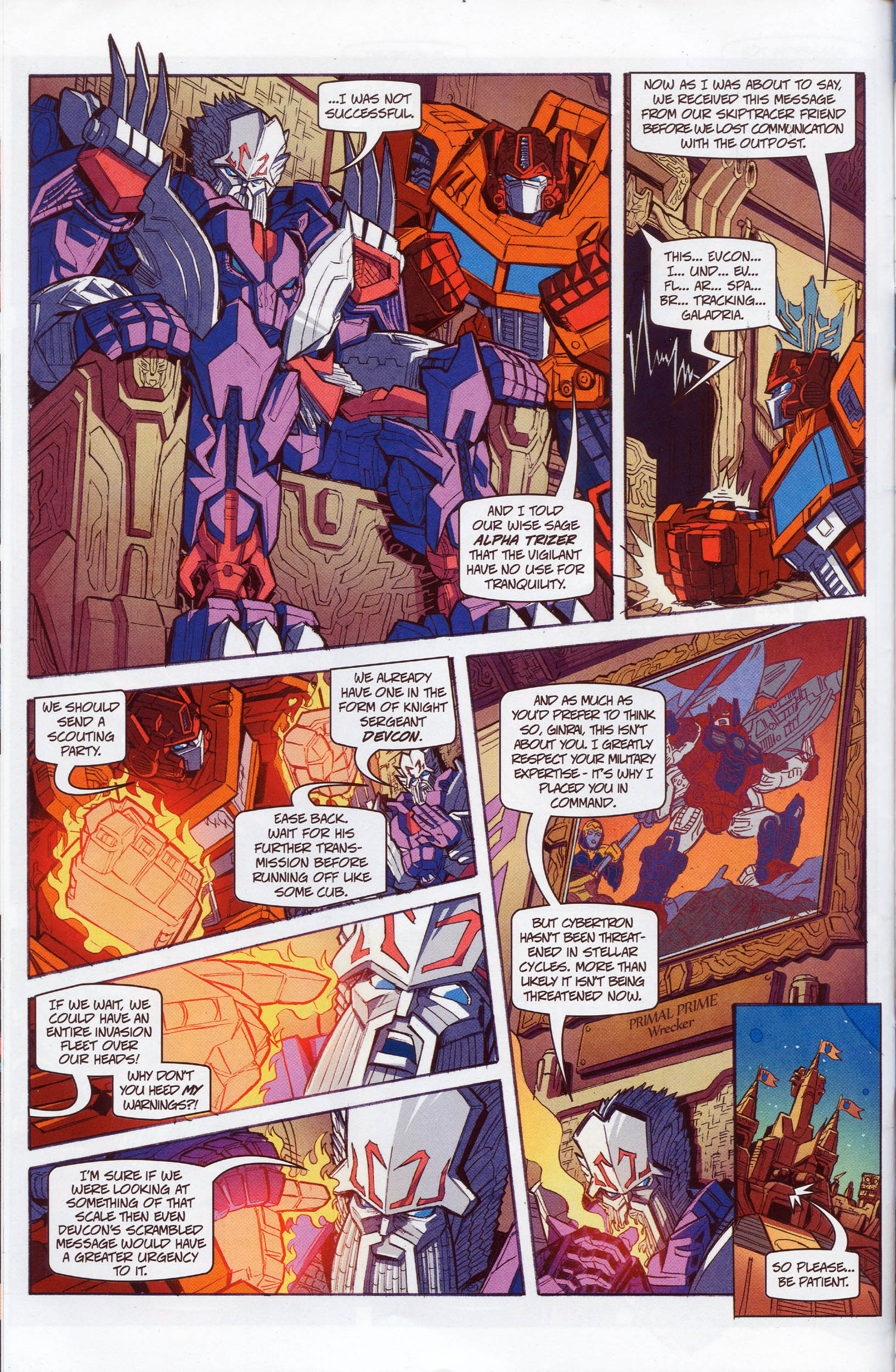 Read online Transformers: Timelines comic -  Issue #10 - 11
