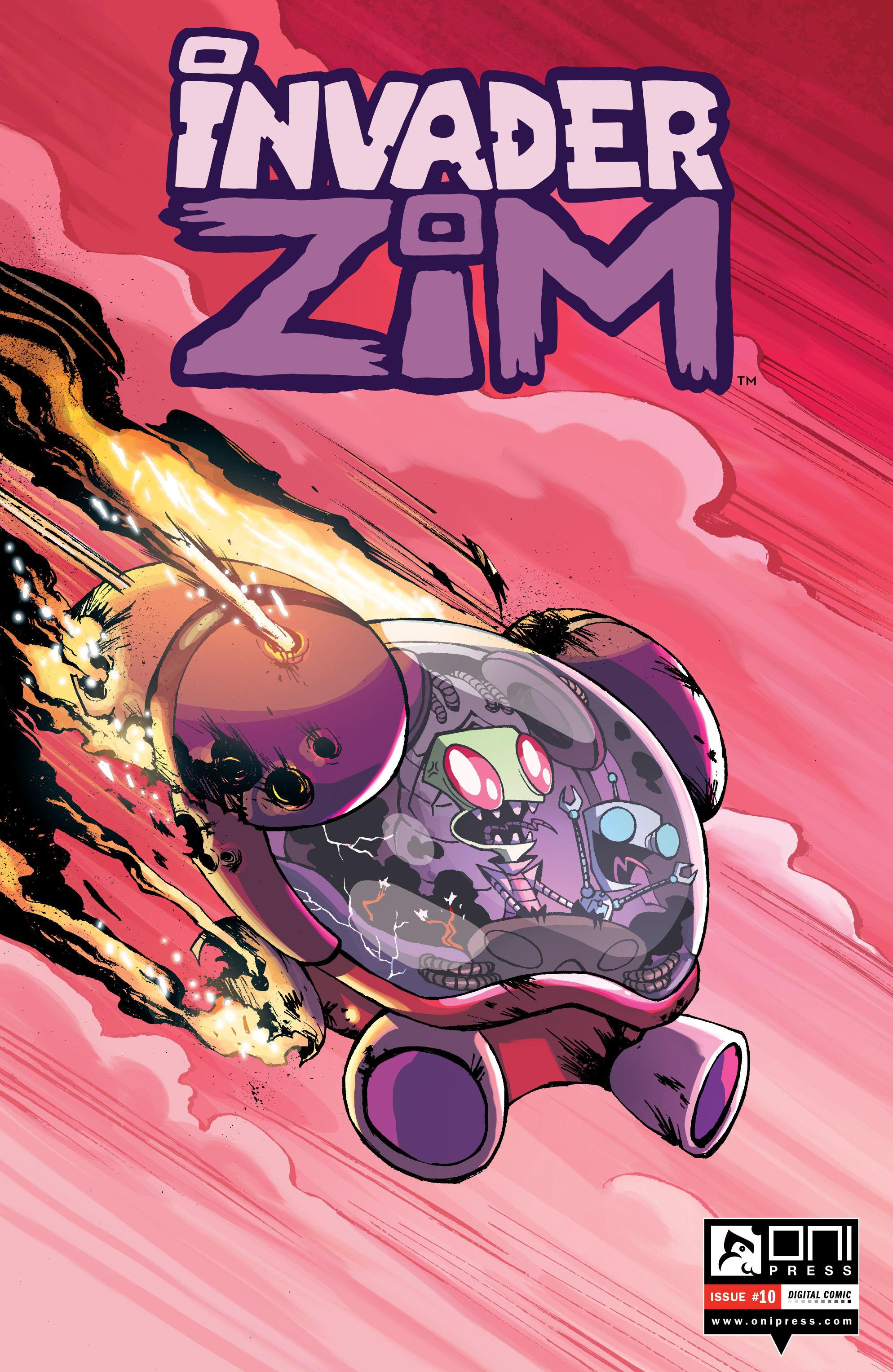 Invader Zim 10 Page 1