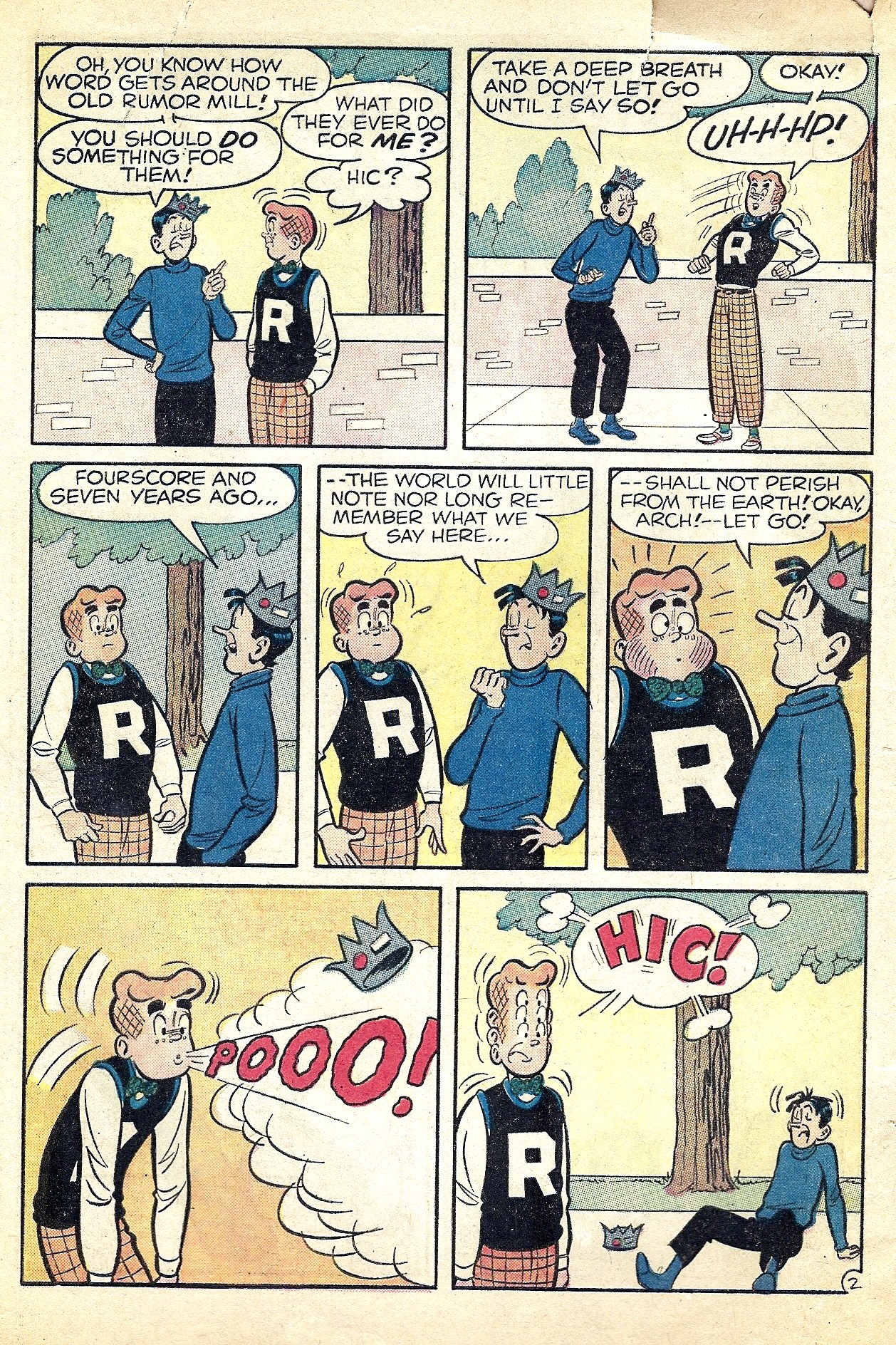 Read online Archie (1960) comic -  Issue #127 - 4