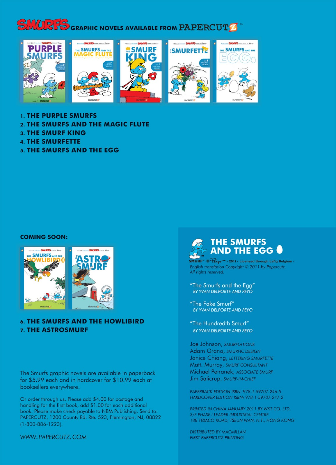 Read online The Smurfs comic -  Issue #5 - 3