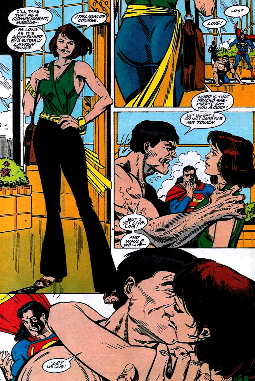 Read online Adventures of Superman (1987) comic -  Issue #516 - 19