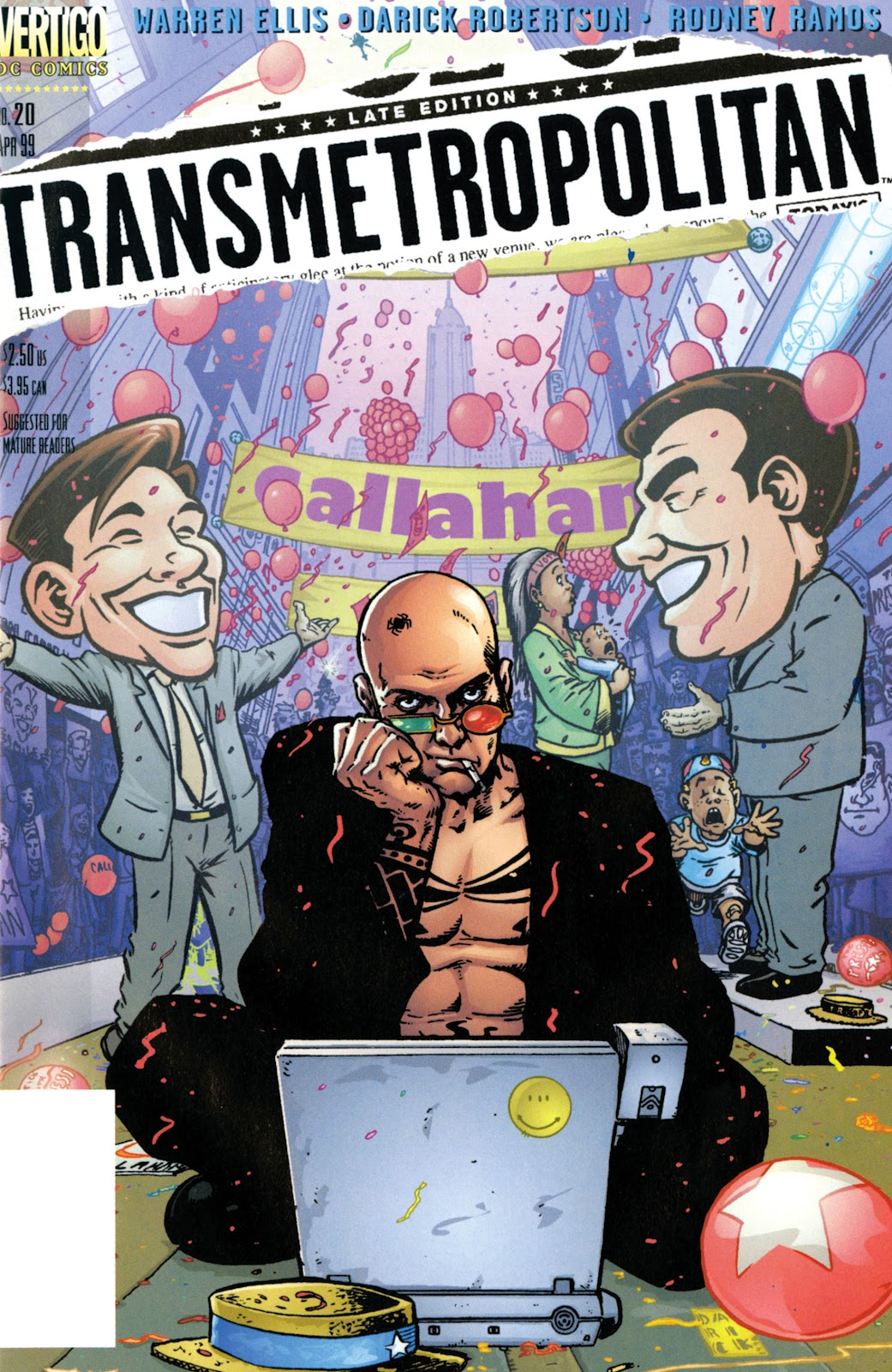 Transmetropolitan 20 Page 1