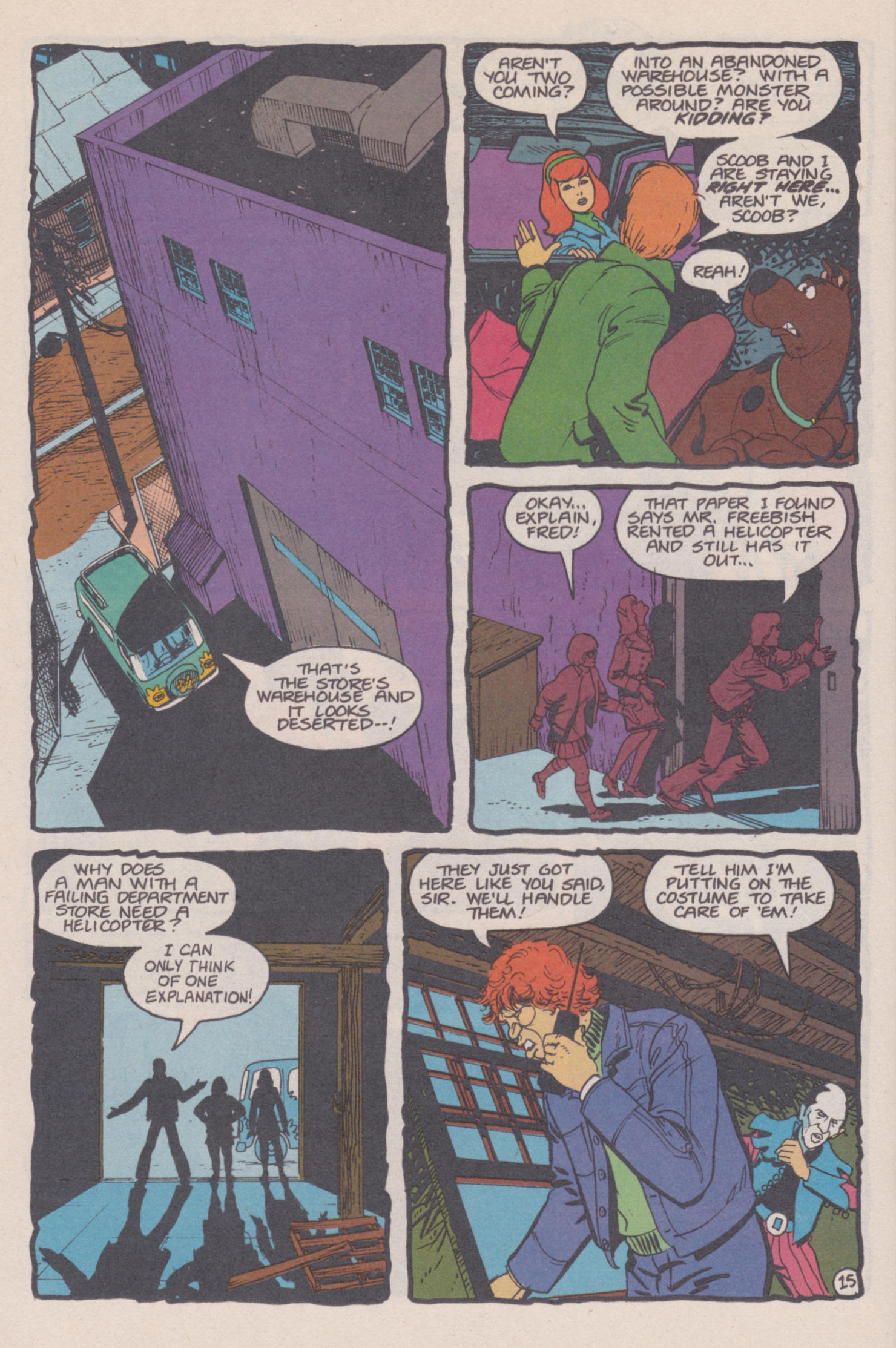 Read online Scooby-Doo (1995) comic -  Issue #14 - 16