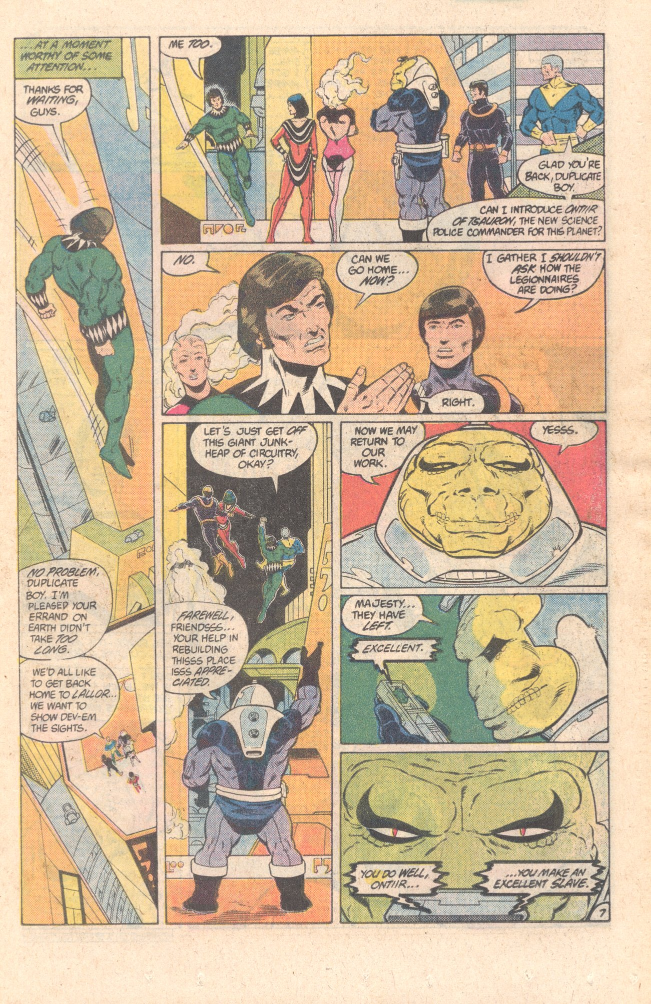 Legion of Super-Heroes (1980) 299 Page 7