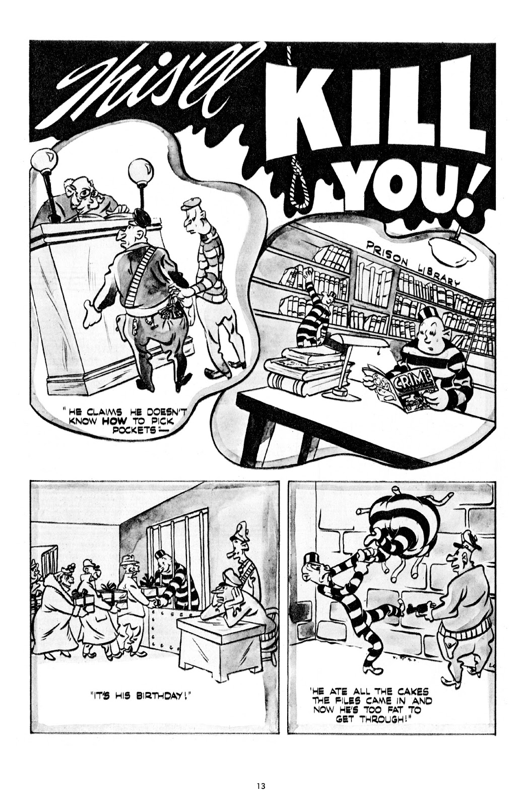 Read online Crime Does Not Pay Archives comic -  Issue # TPB 7 (Part 1) - 15