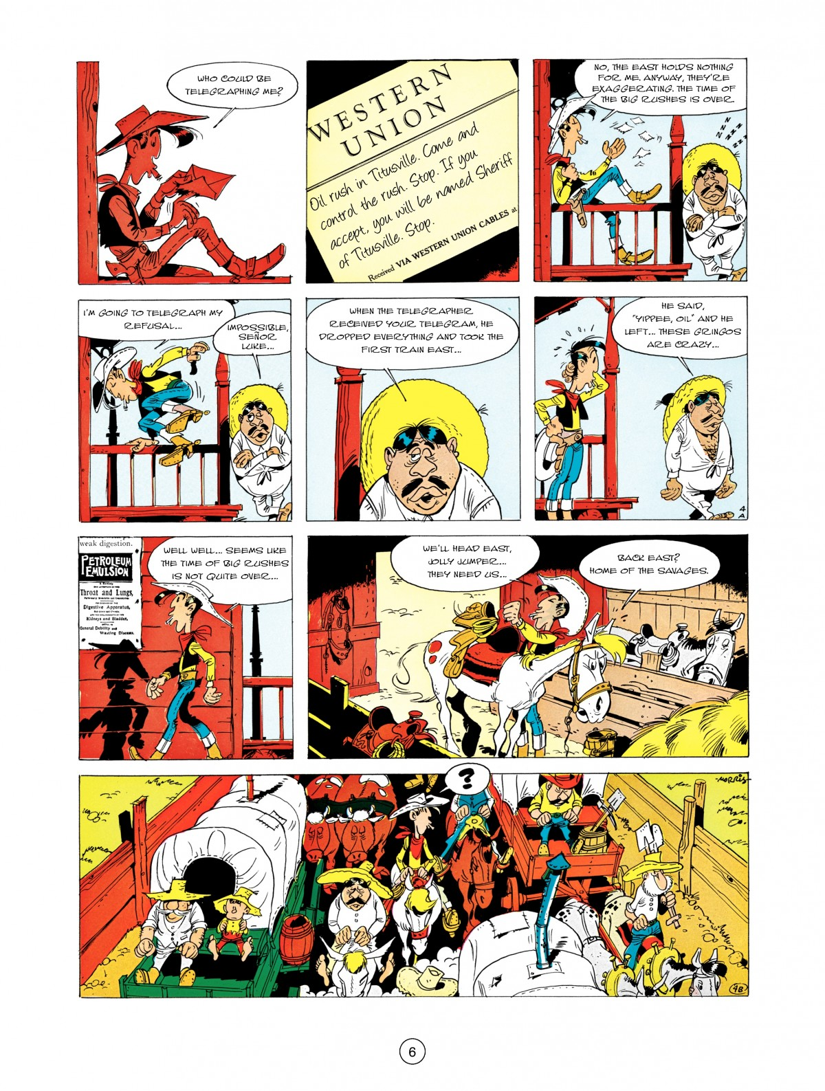 A Lucky Luke Adventure 5 Page 7